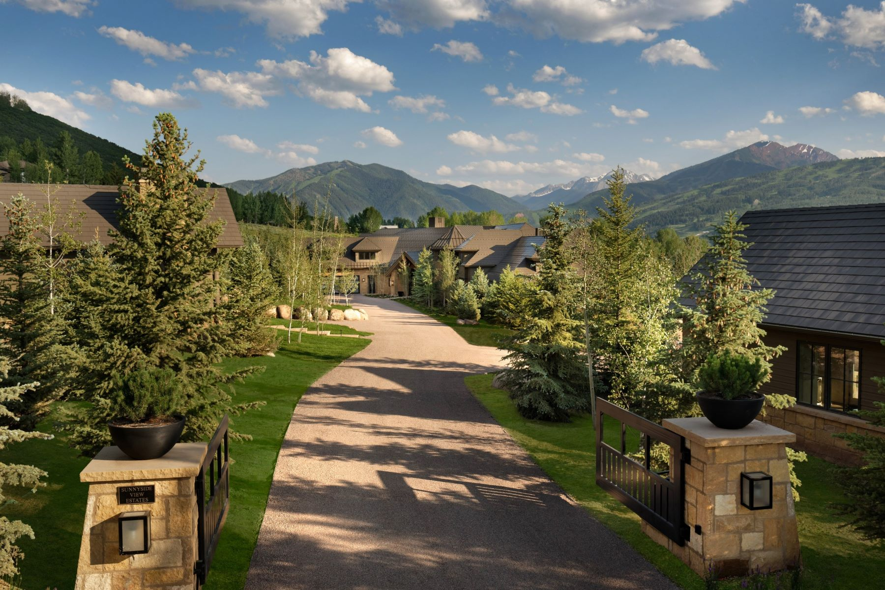 Single Family Homes for Sale at Sunnyside View Estate 61 Sunnyside Way Aspen, Colorado 81611 United States