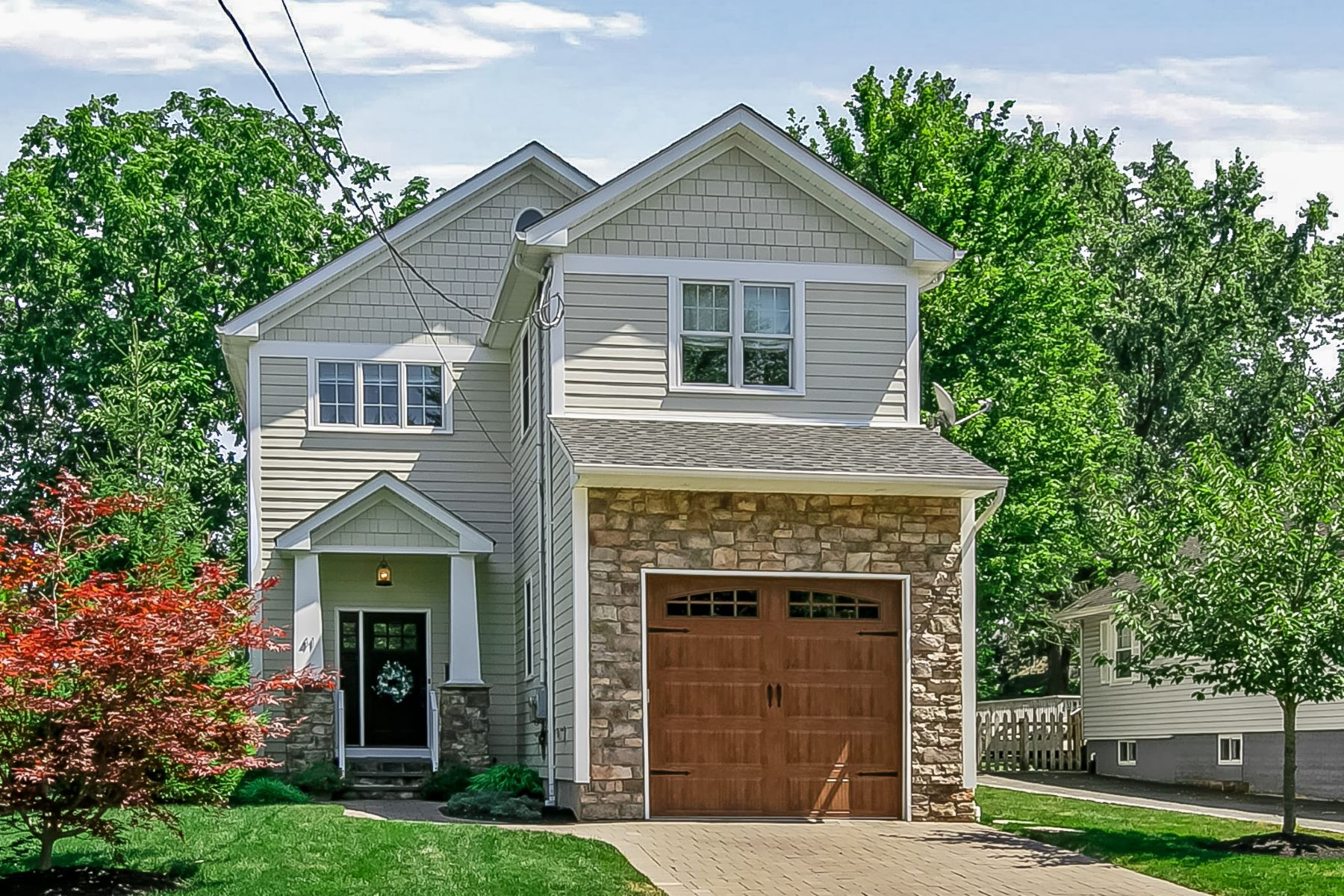 Single Family Homes for Active at Meticulous Colonial 41 Washington Avenue Chatham, New Jersey 07928 United States