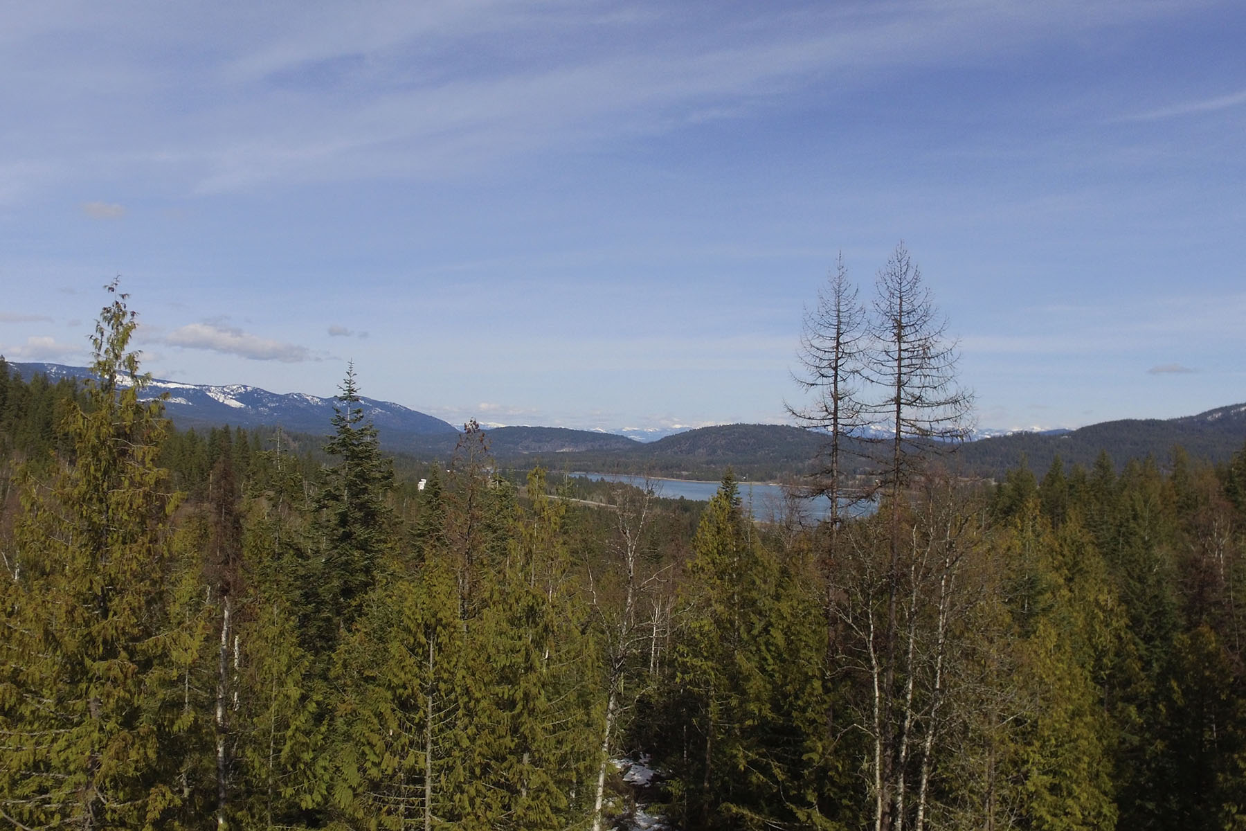 Land for Sale at Beautiful treed 17.3 acres with breathtaking views of Pend Oreille River NNA Lot 2 Cresthaven Dr Sandpoint, Idaho, 83864 United States
