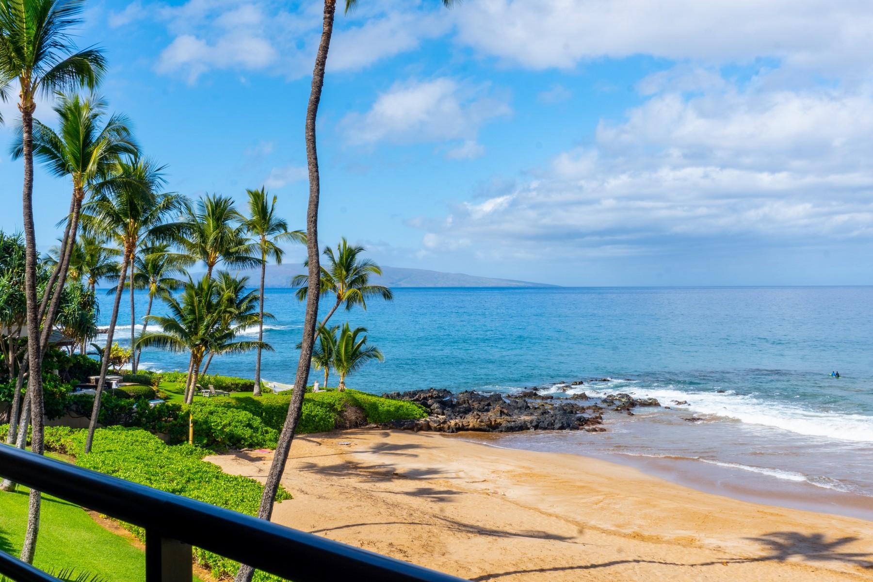 Condominiums 为 销售 在 Polo Beach Club Suite 305 in Wailea-Makena, Maui, HI 4400 Makena Rd, Polo Beach Suite 305 威雷亚, 夏威夷 96753 美国