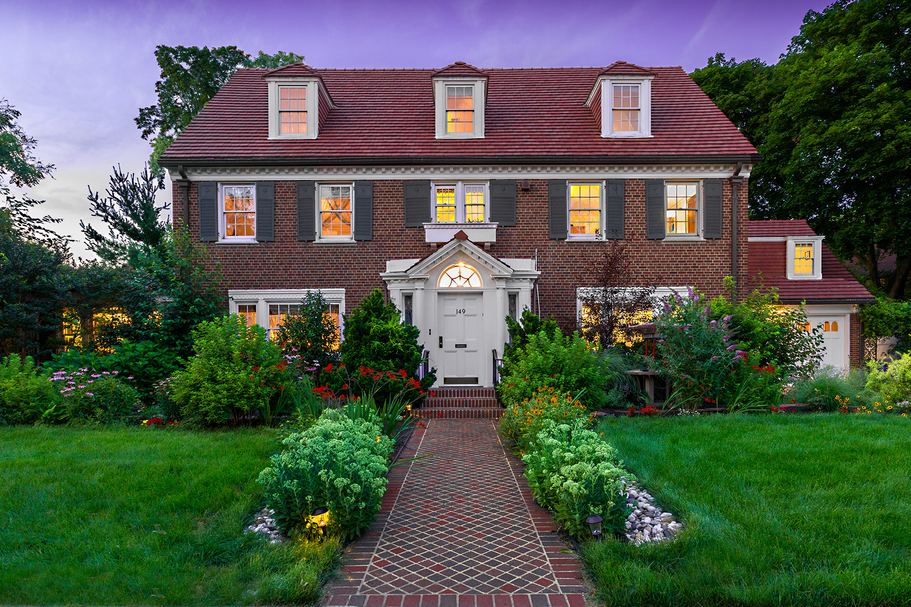 """Single Family Homes for Sale at """"VIRTUAL PERFECTION"""" 149 Slocum Crescent,, Forest Hills Gardens, Forest Hills, New York 11375 United States"""