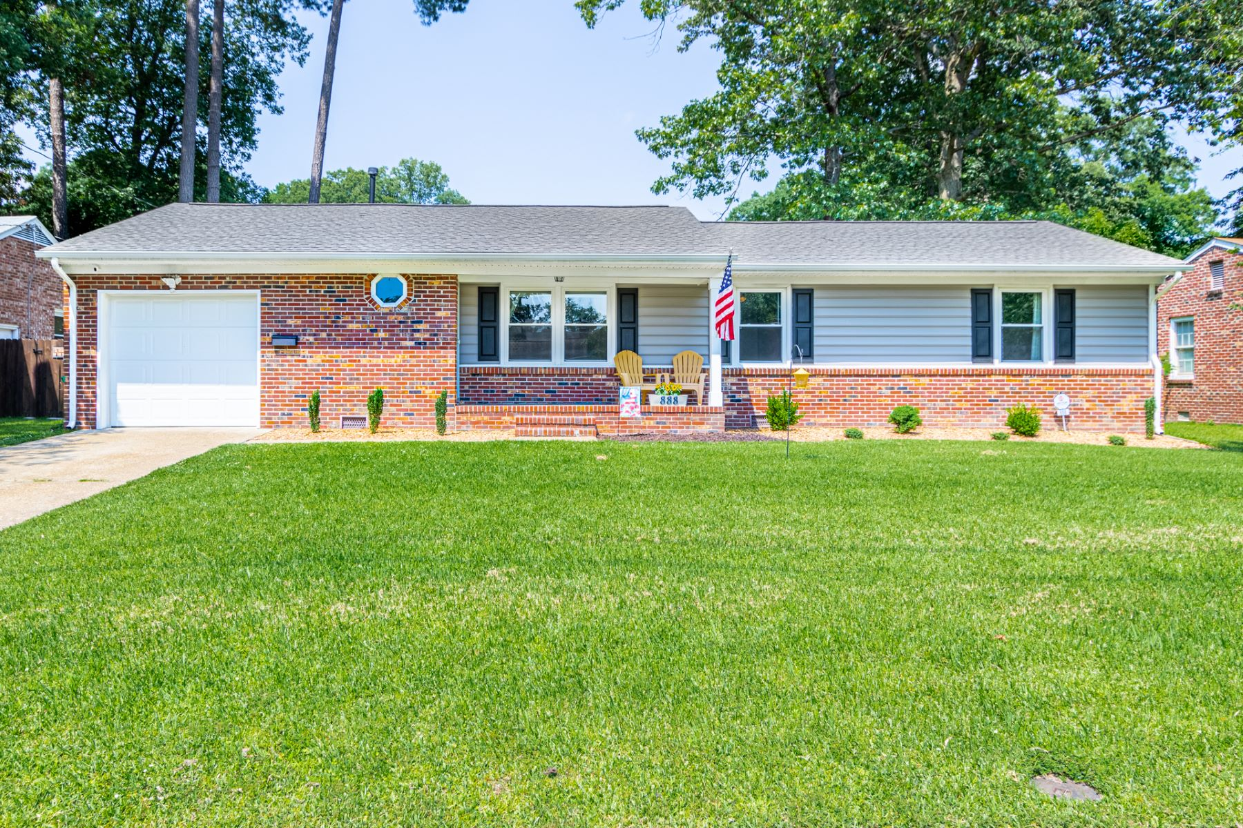 Single Family Homes for Sale at BEECHWOOD 888 Elder Road Newport News, Virginia 23608 United States