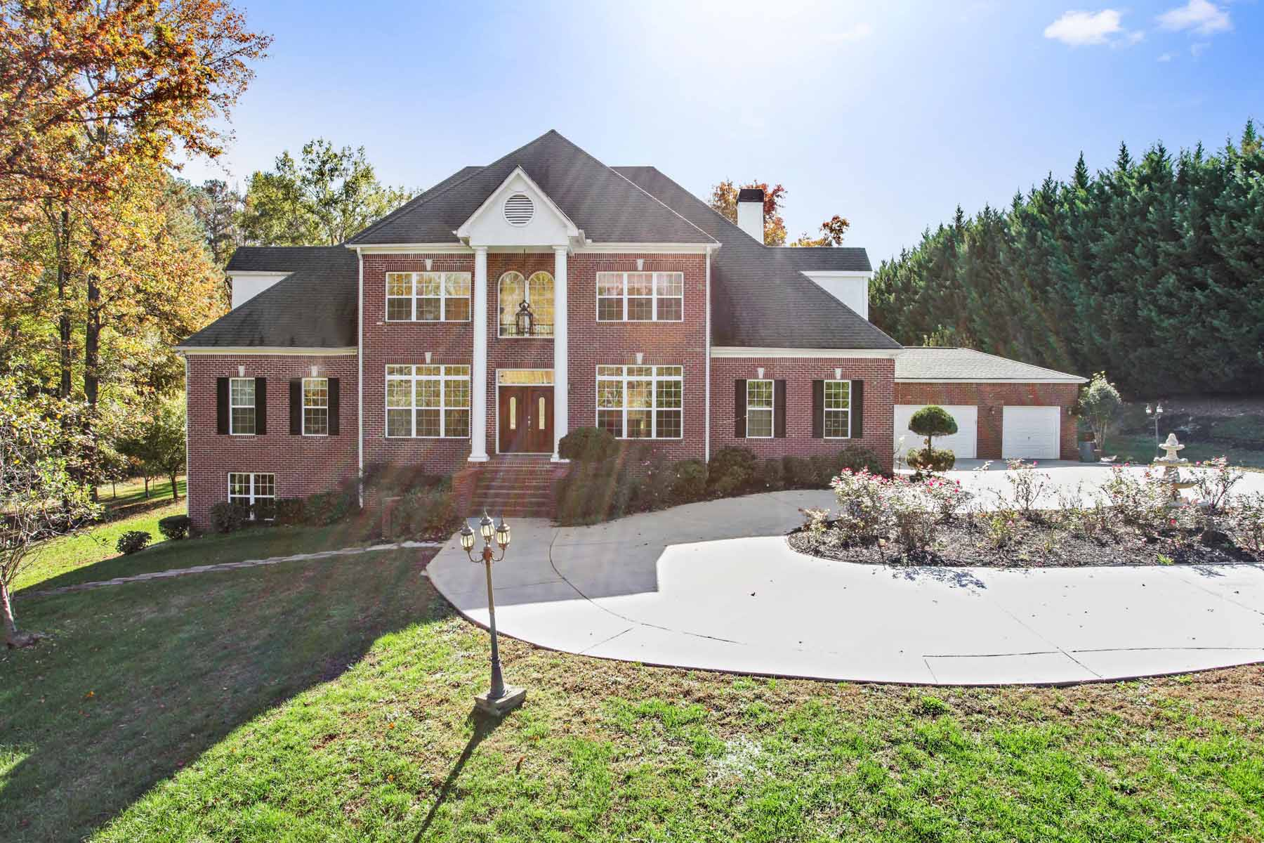 Single Family Home for Sale at Large Roswell Home Has Three Acres 995 Hembree Road, Roswell, Georgia, 30076 United States