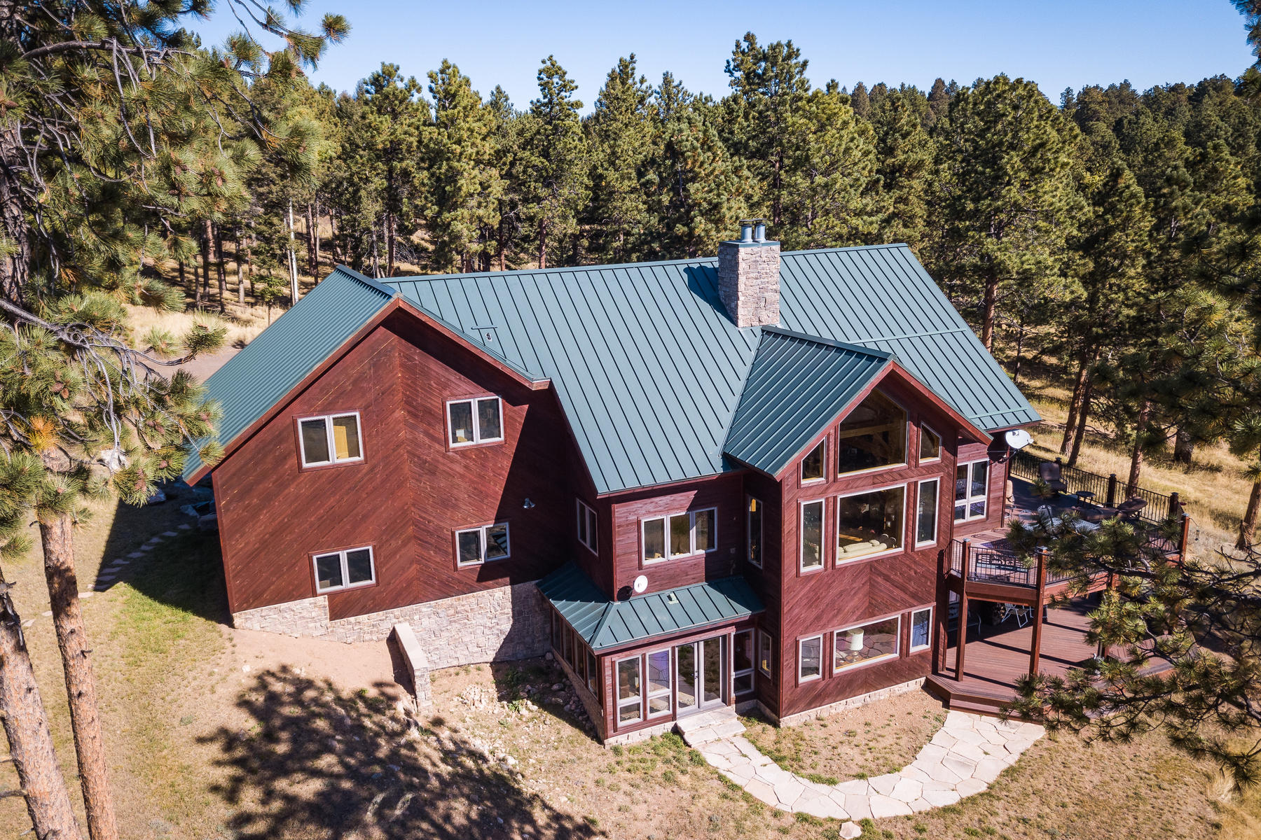Single Family Homes for Active at The epitome of Colorado living with an undeniable reverence for nature. 25987 Richmond Hill Road Conifer, Colorado 80433 United States