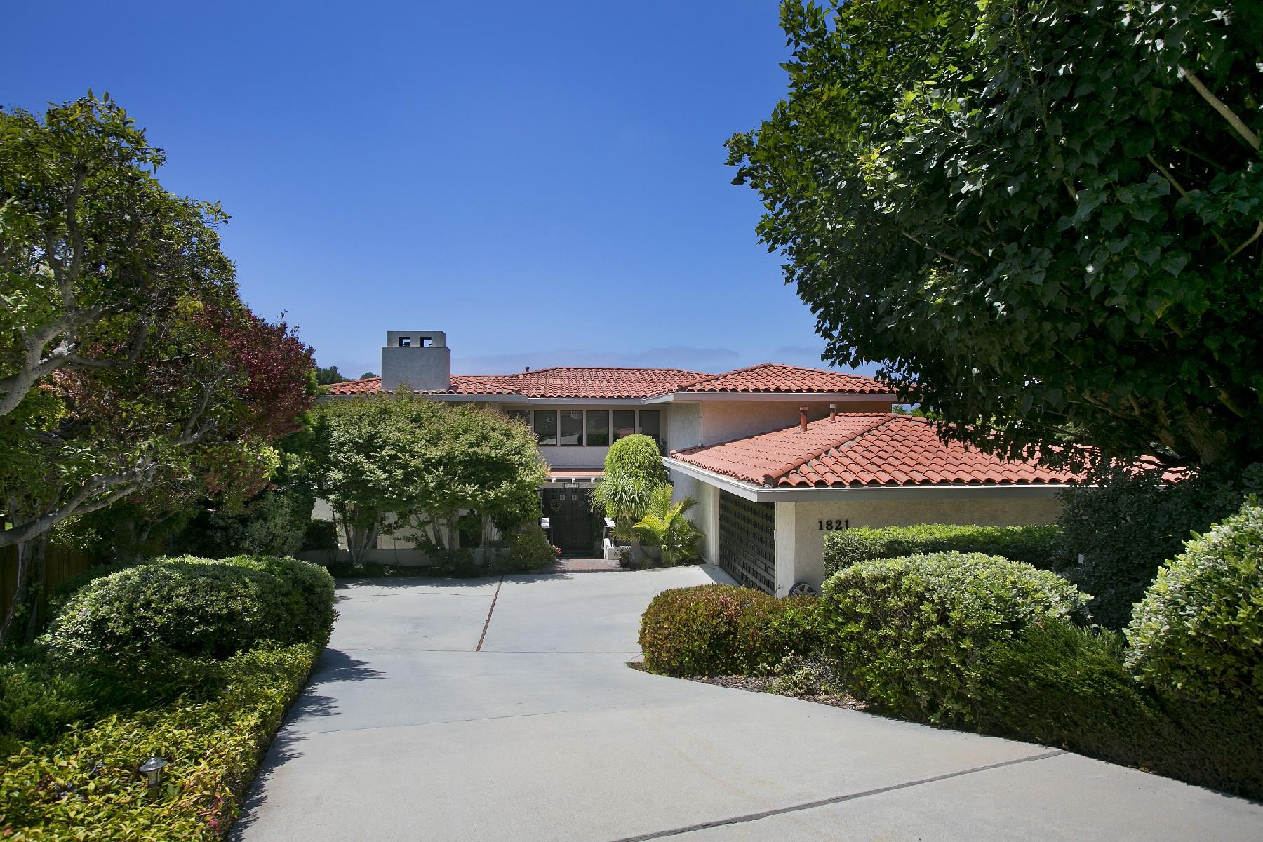 sales property at 1821 Via Estudillo, Palos Verdes Estates 90274