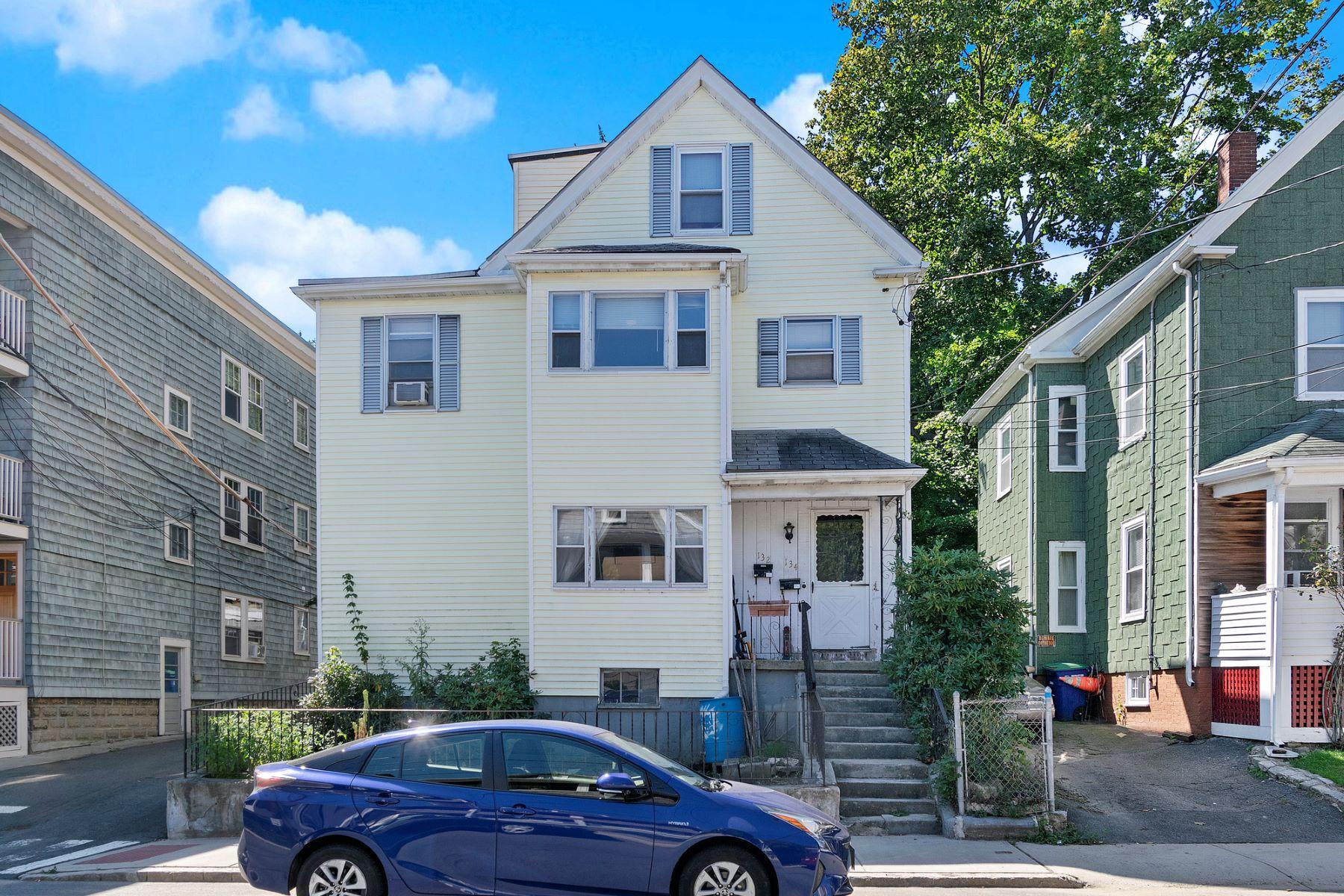 Multi-Family Homes 용 매매 에 134 Albion Street Somerville, 매사추세츠 02144 미국