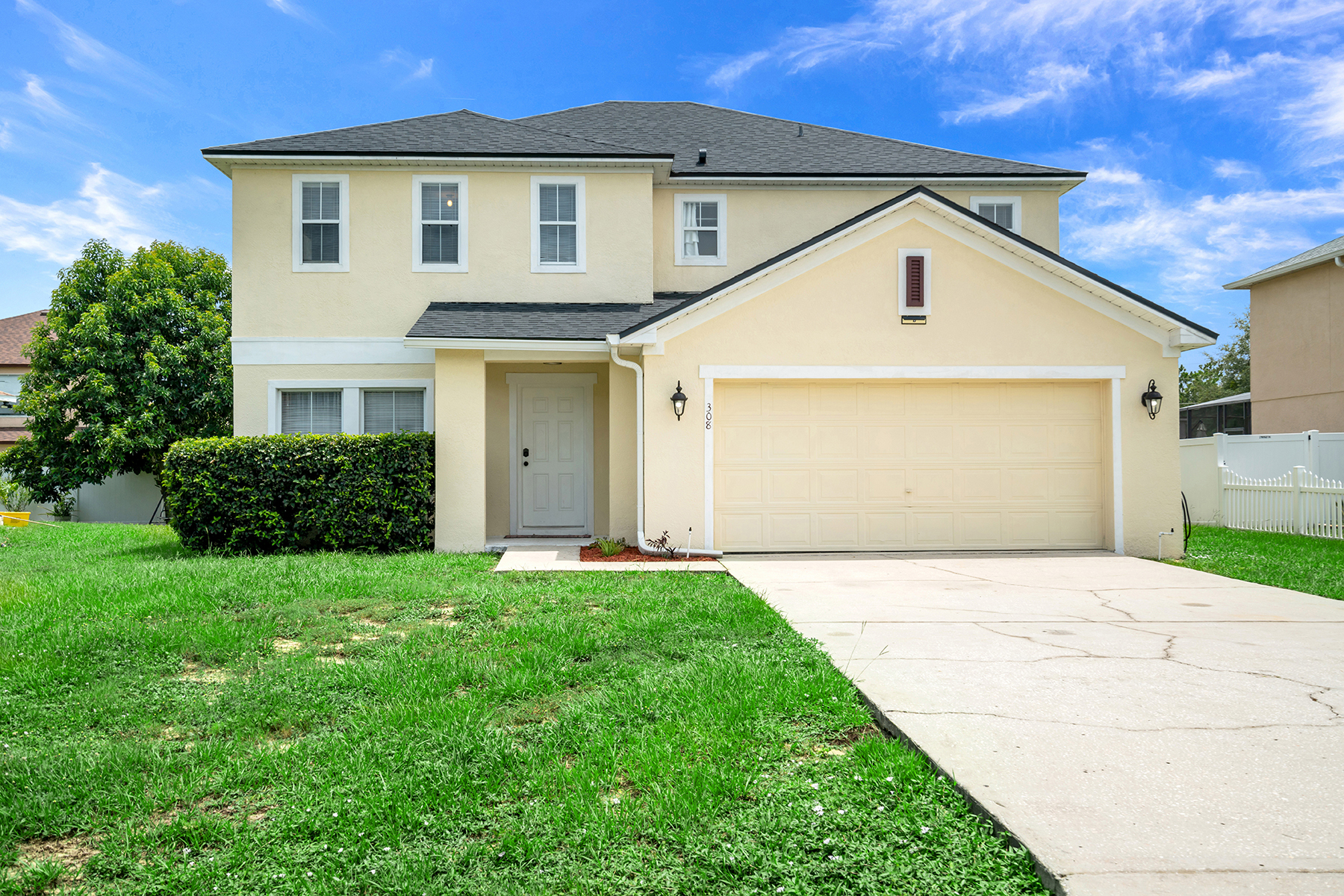 Single Family Homes for Sale at POINCIANA 308 Anchovie Ct Poinciana, Florida 34759 United States
