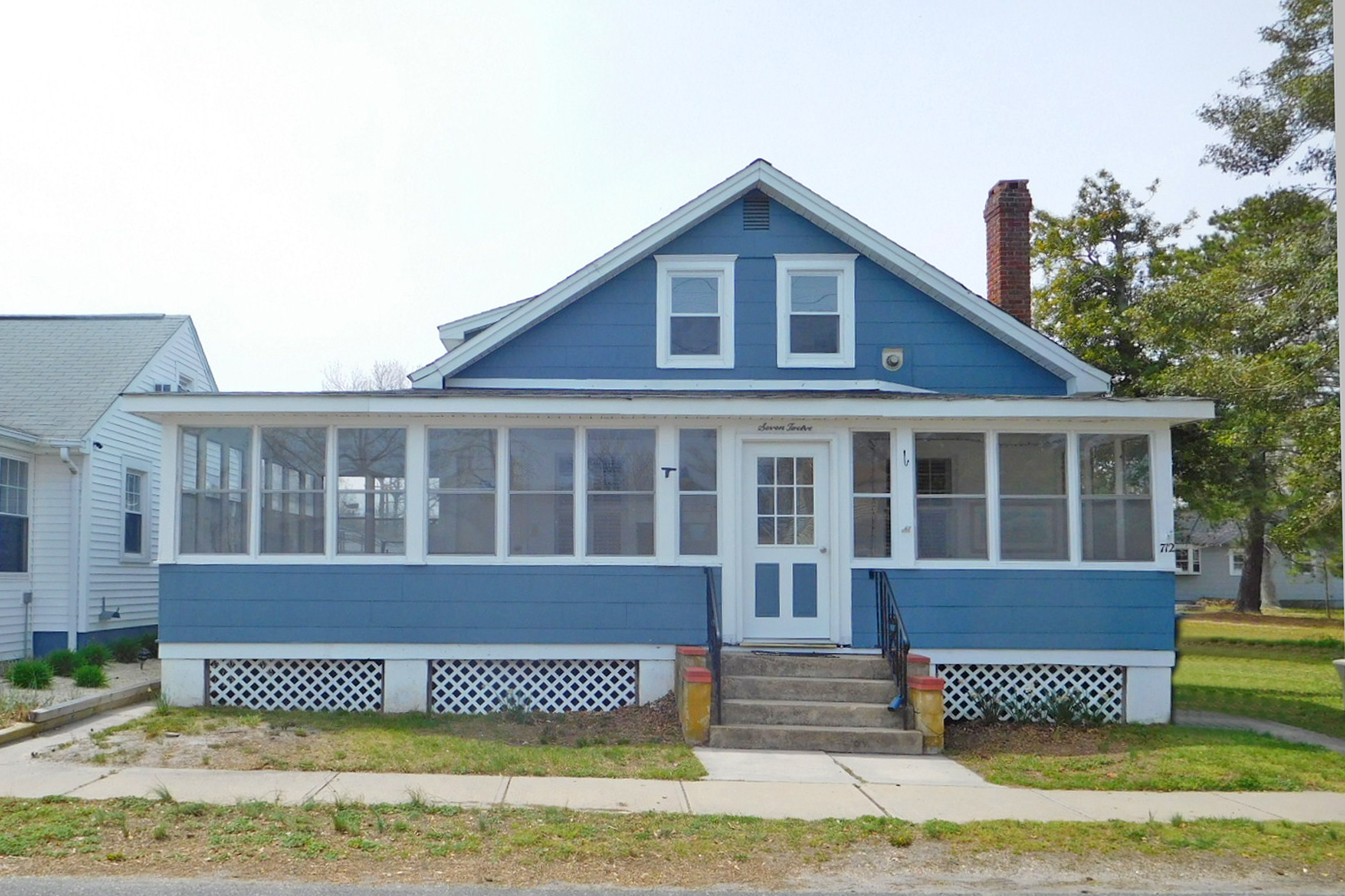 Single Family Homes for Sale at Charming Cape Located On Quiet Street 712 Stone Harbor Avenue Ocean Gate, New Jersey 08740 United States