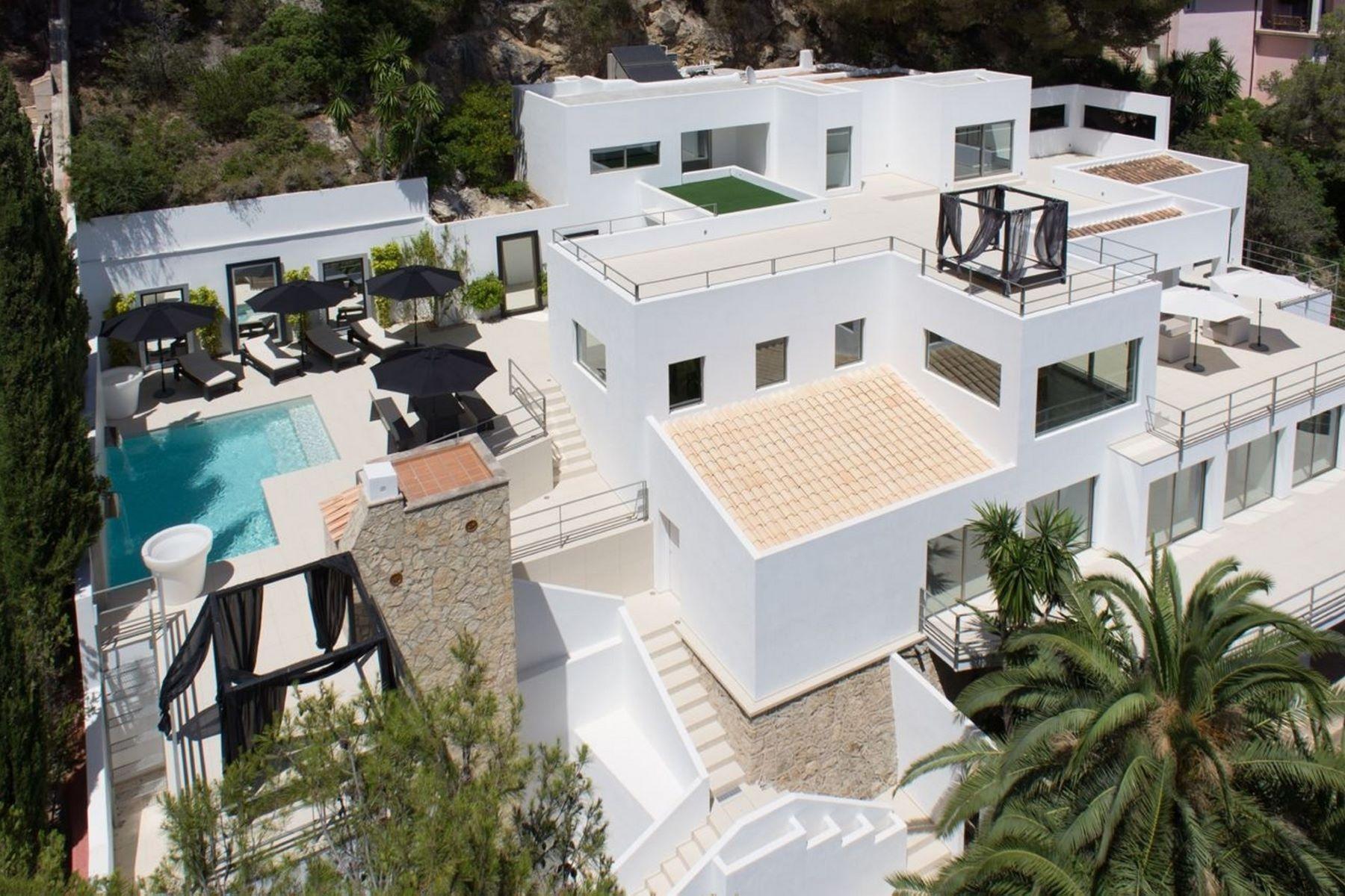Single Family Home for Sale at Villa with sea views in Son Vida Palma De Mallorca, Balearic Islands, 07181 Spain