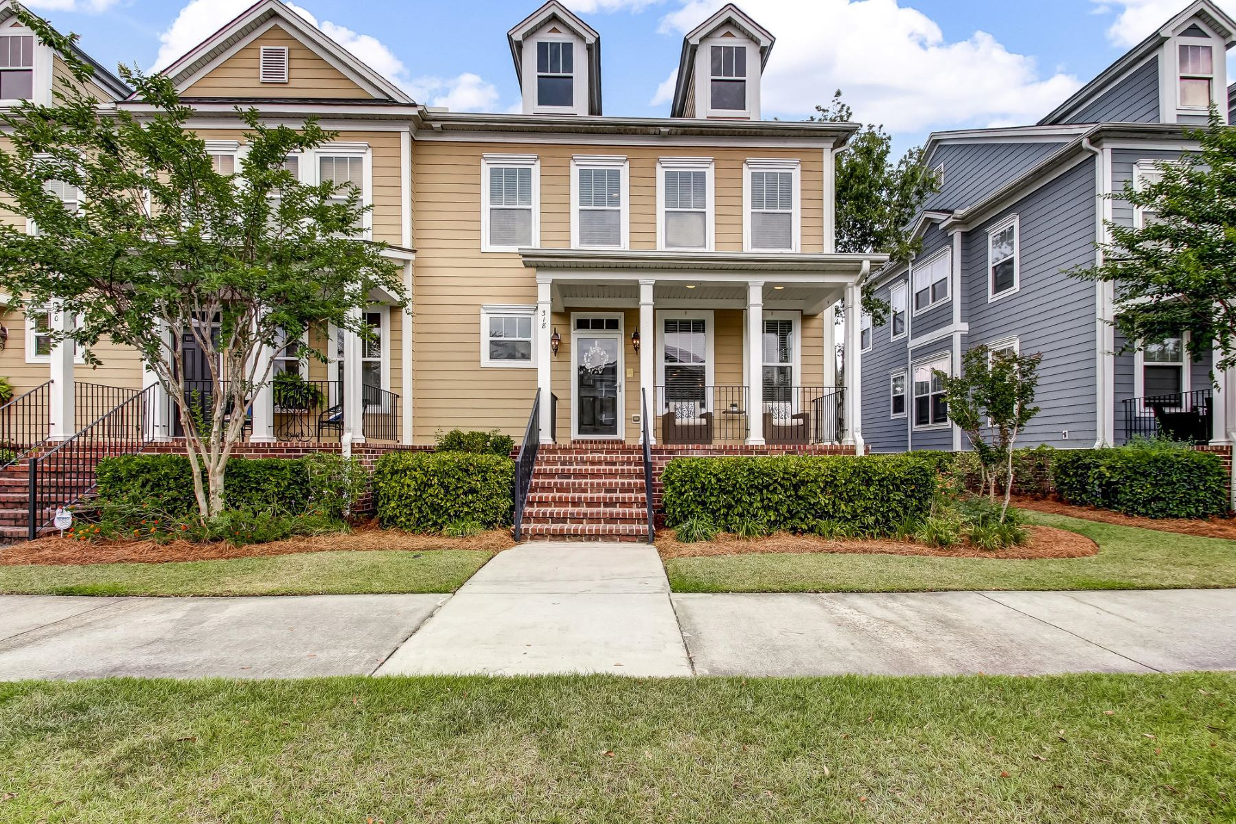 townhouses for Active at 318 Village Green Pooler, Georgia 31322 United States