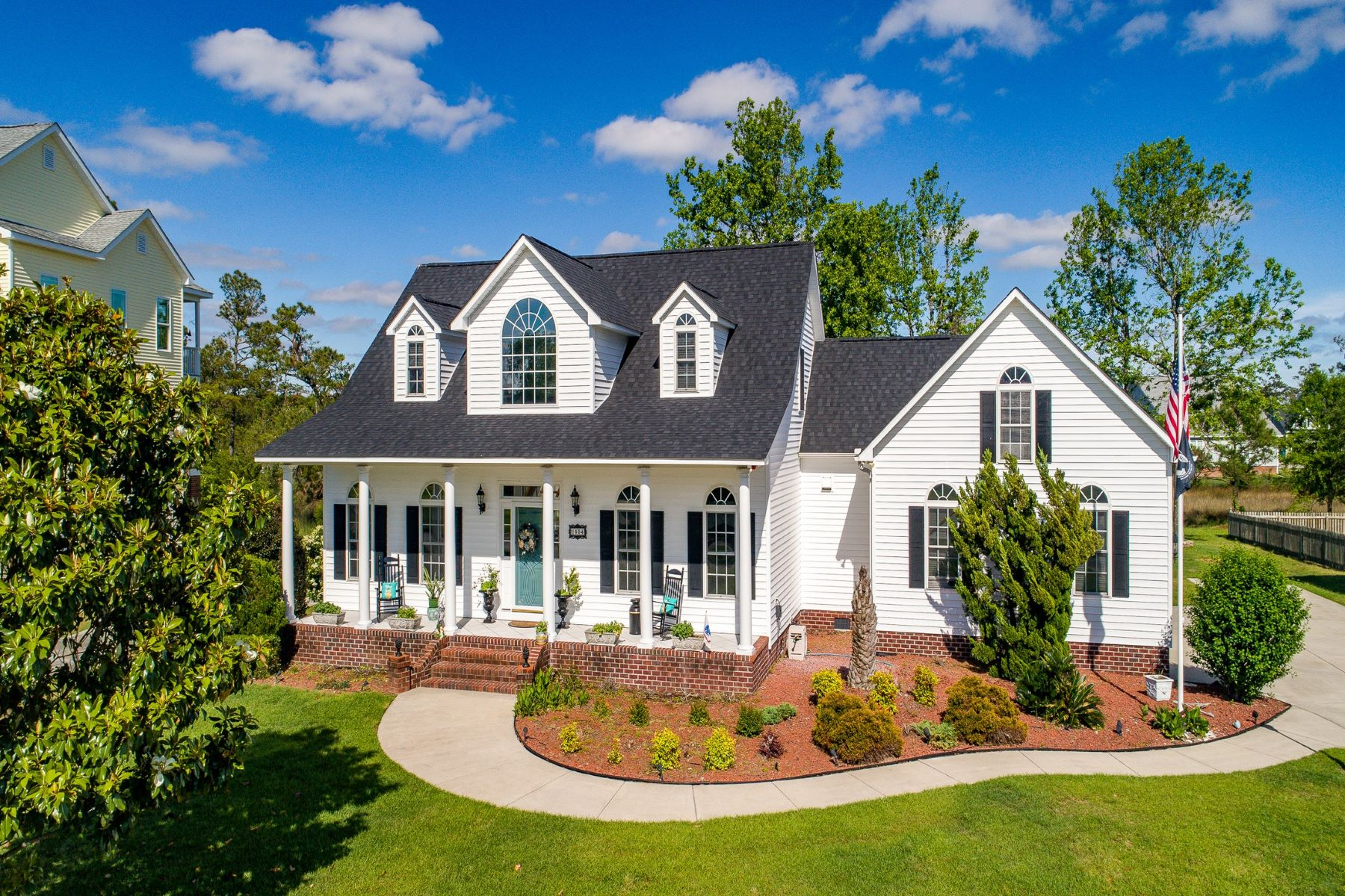 Single Family Home for Active at Waterfront Custom Built Home 1504 Dills Creek Lane Morehead City, North Carolina 28557 United States