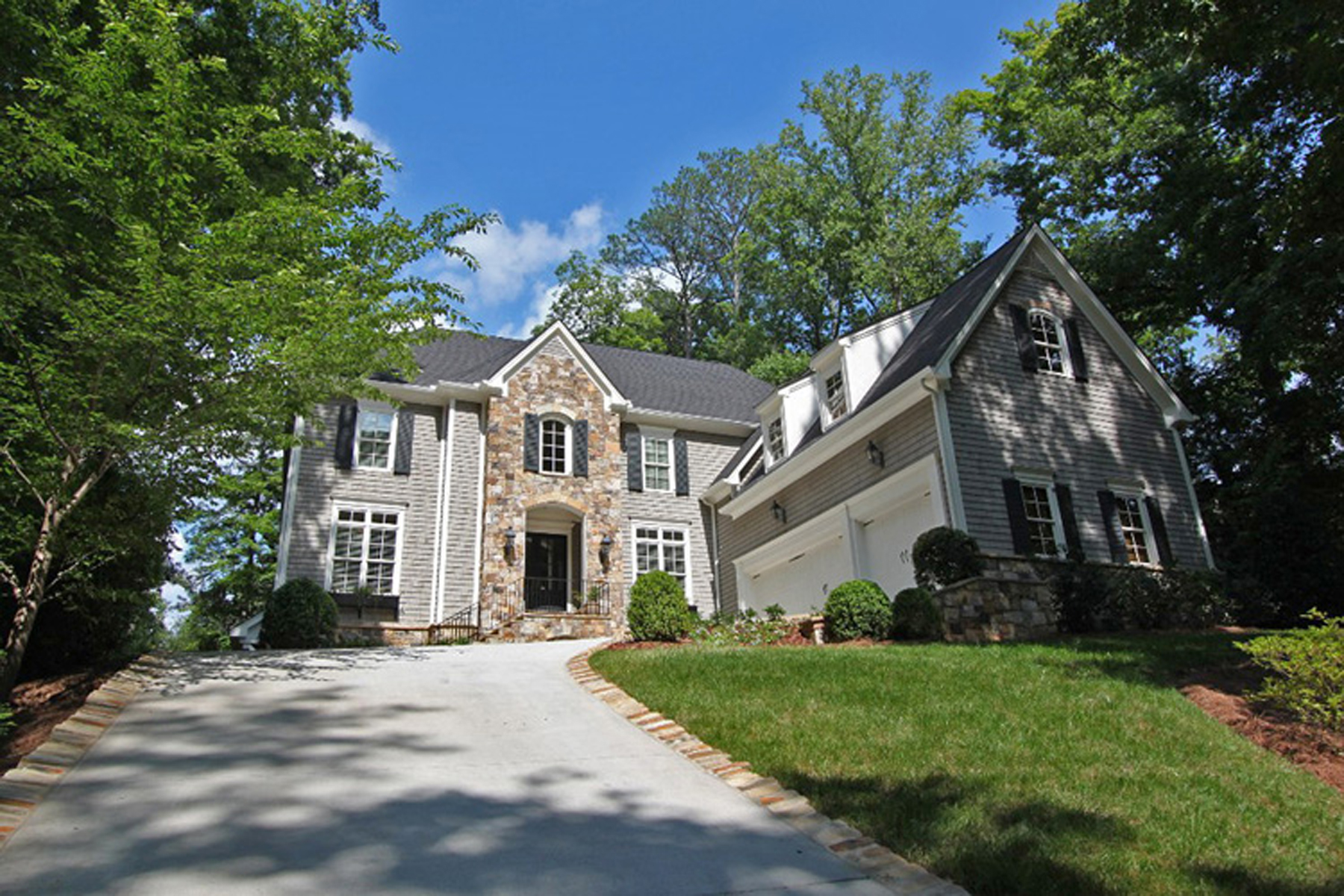 Single Family Home for Sale at Wonderful Newer Construction Home 3363 Wood Valley Road NW Buckhead, Atlanta, Georgia, 30327 United States