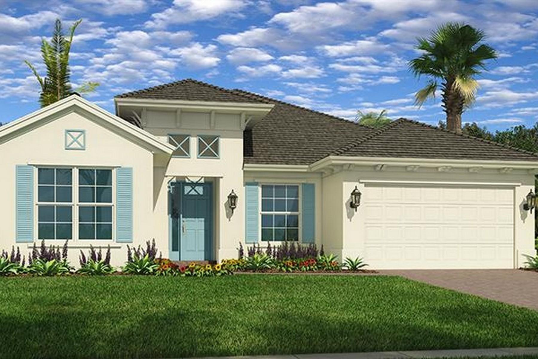 Casa para uma família para Venda às One of our Newest Models in the Beautiful Community of Lily's Cay 1371 Lily's Cay Circle Vero Beach, Florida, 32967 Estados Unidos