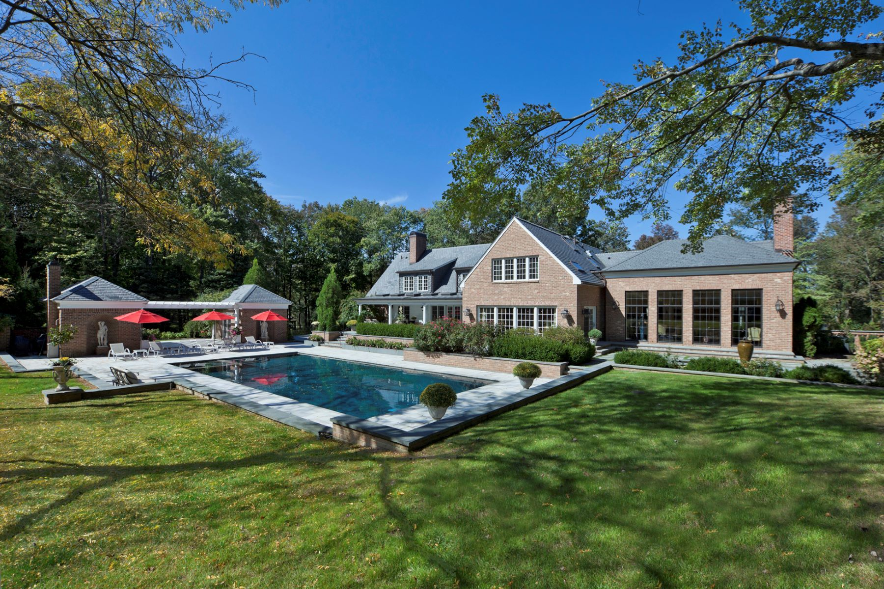 Single Family Home for Sale at An Old World Estate Made for Modern Entertaining 5279 Province Line Road Princeton, 08540 United States