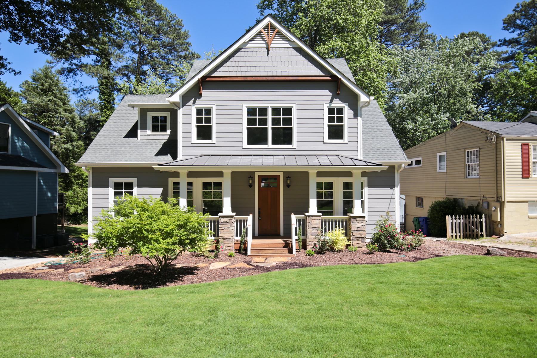 独户住宅 为 销售 在 Charming Brookhaven Craftsman 3013 Ringle Rd Ashford Park, 亚特兰大, 乔治亚州, 30341 美国