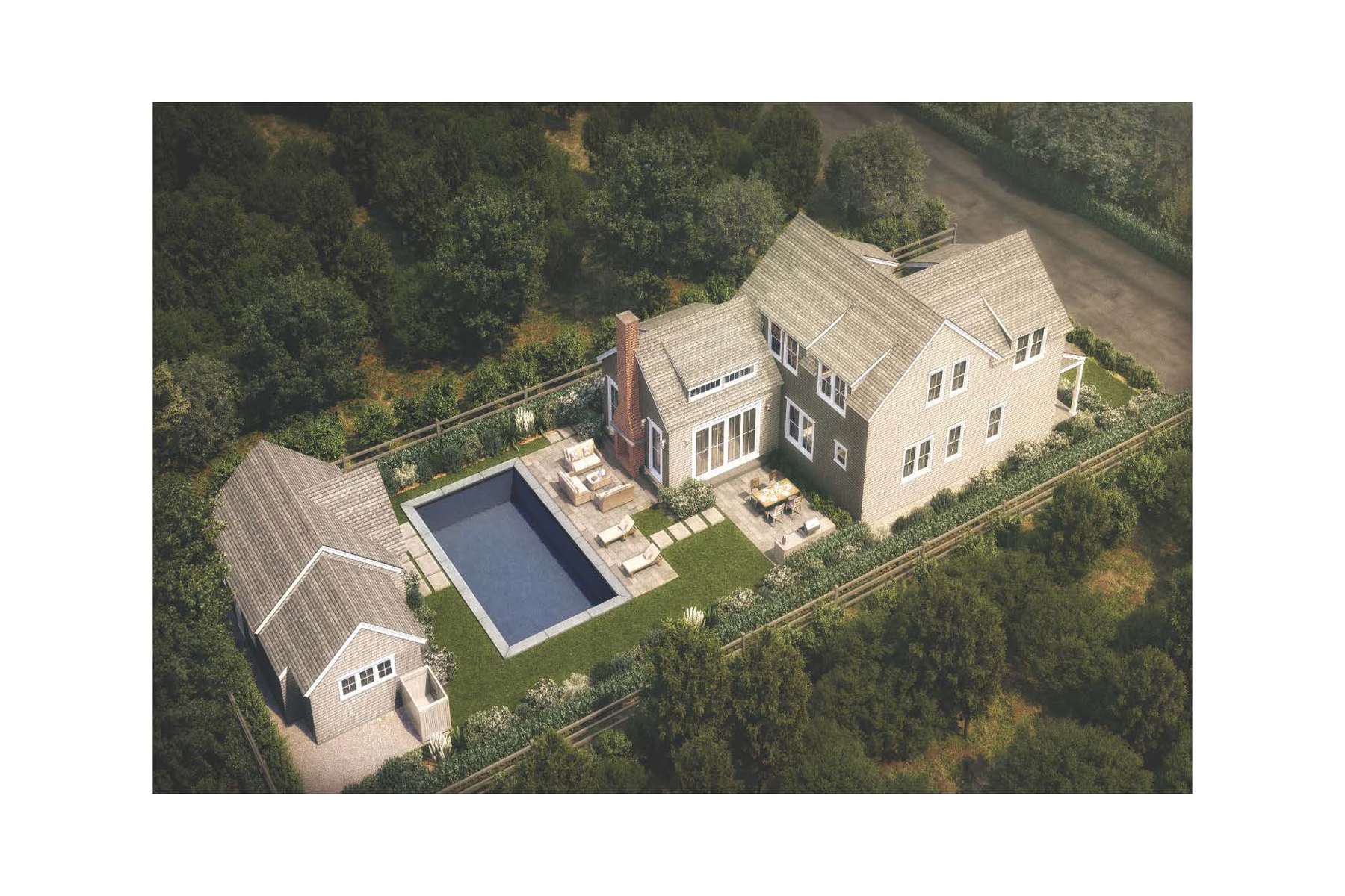 Single Family Homes for Sale at New Construction in the Heart of Nantucket's Finest Offerings! 8 Highland Avenue Nantucket, Massachusetts 02554 United States