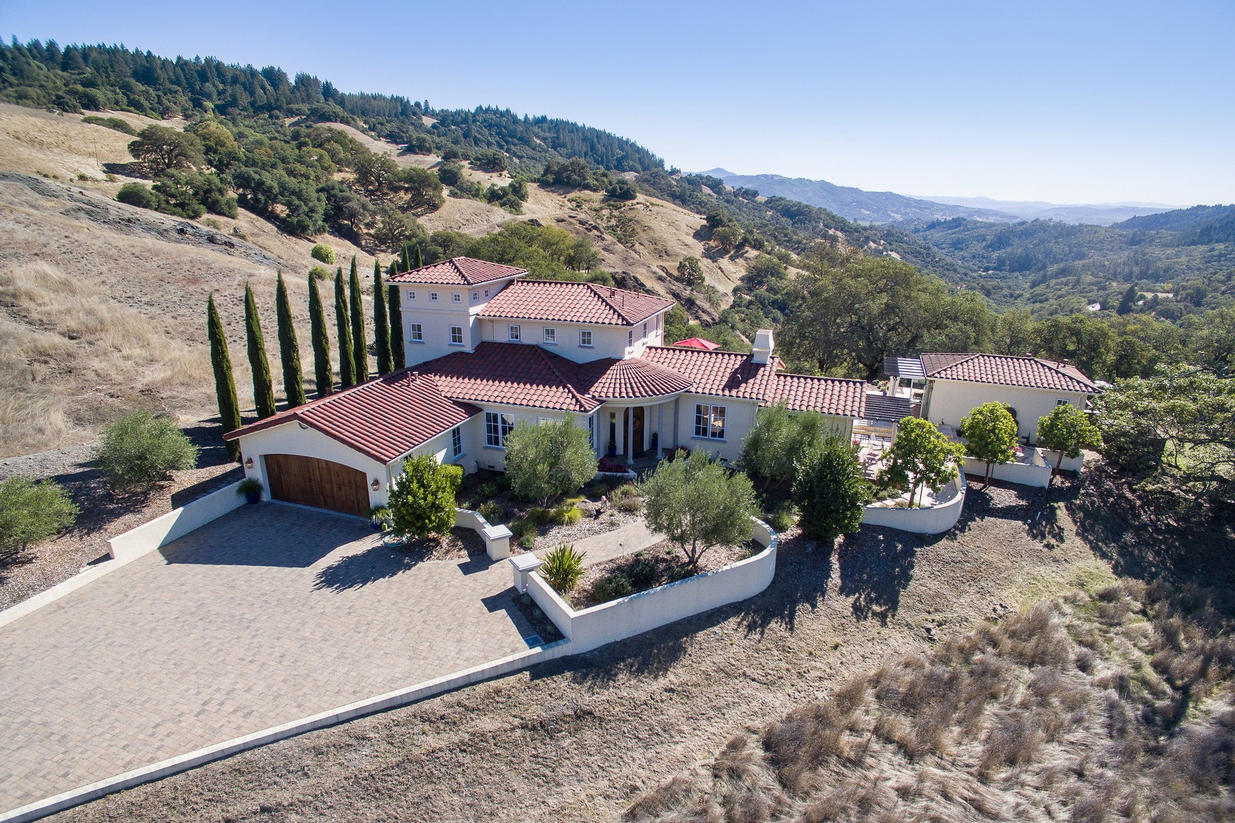 Single Family Homes for Sale at Cloverdale Heaven 34940 Highway 128 Cloverdale, California 95425 United States