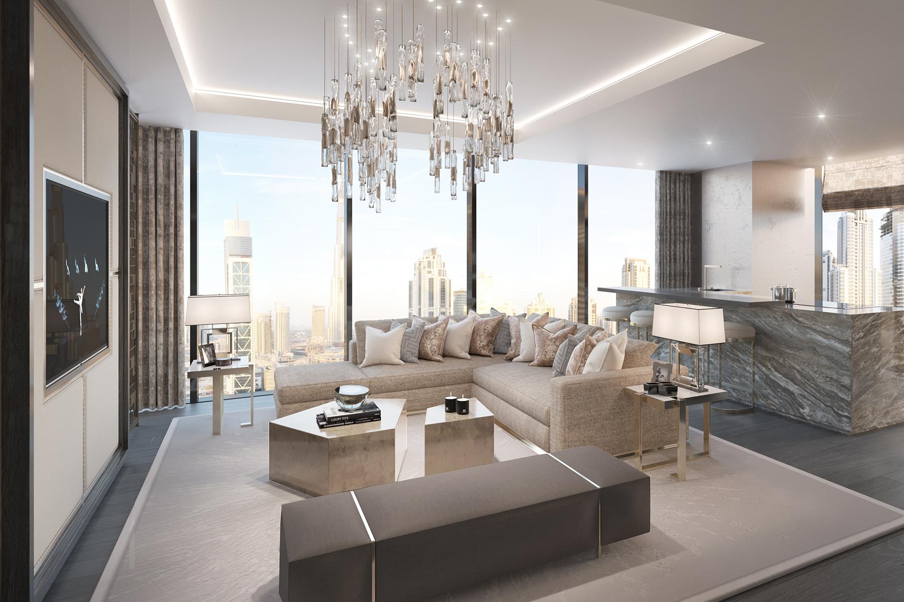 公寓 為 出售 在 One Palm - Simplex Apartment Dubai, 杜拜 阿聯酋