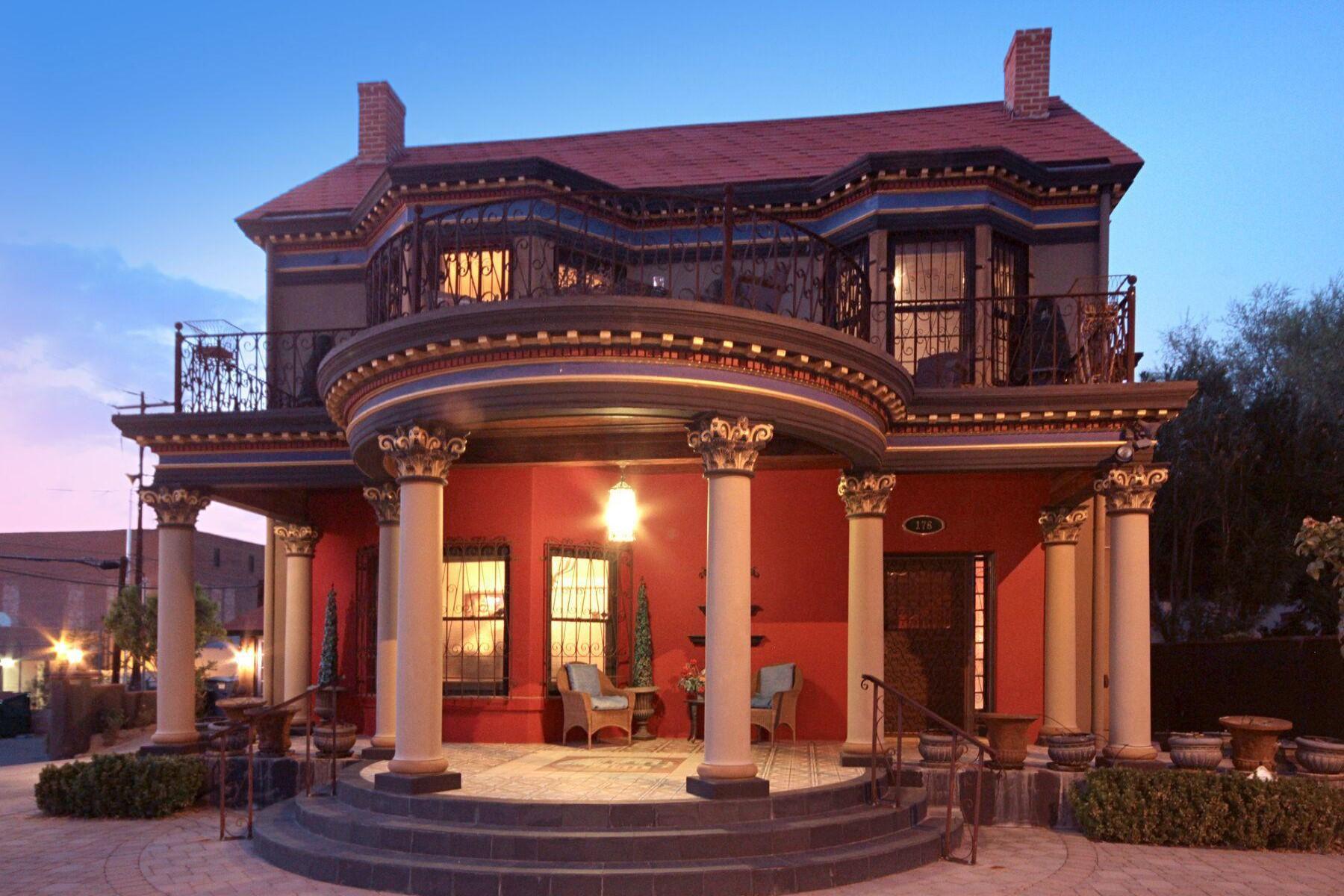 Casa Unifamiliar por un Venta en The Rubi Mansion 175 E 12th Street Tucson, Arizona, 85701 Estados Unidos