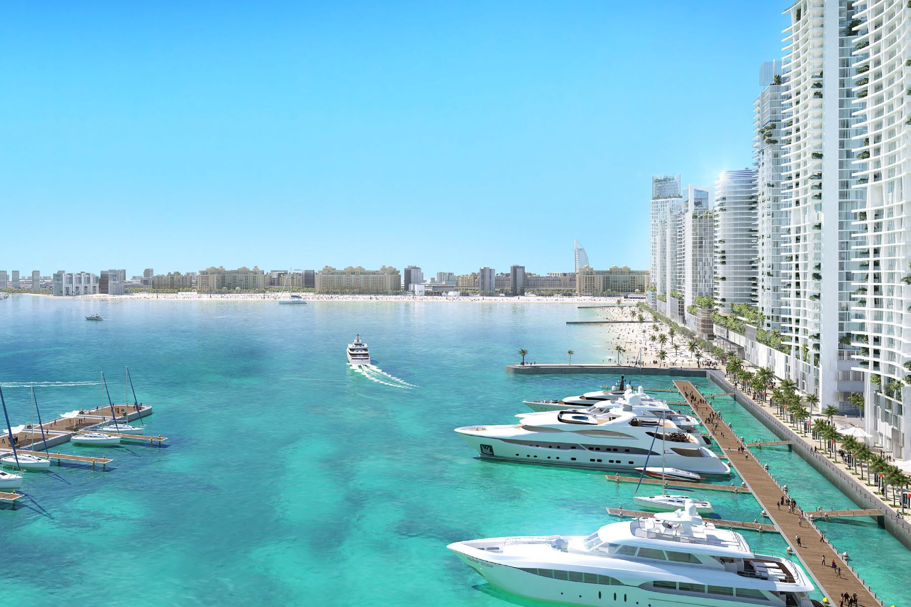 アパート のために 売買 アット Stunning Beach Vista 3 Bedroom Full Sea Views Dubai Harbour Beach Vista Tower 2 Dubai, ドバイ 00000 アラブ首長国連邦