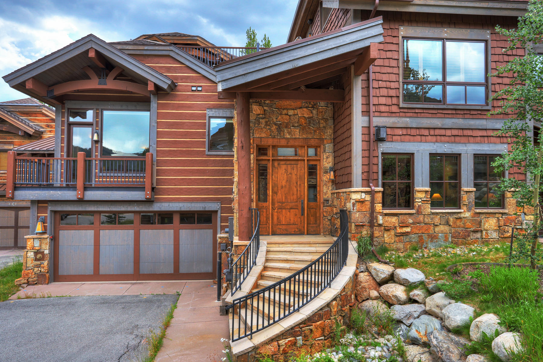 Duplex Homes for Sale at Luxury Living in Lewis Ranch 884 Beeler Place Copper Mountain, Colorado 80443 United States