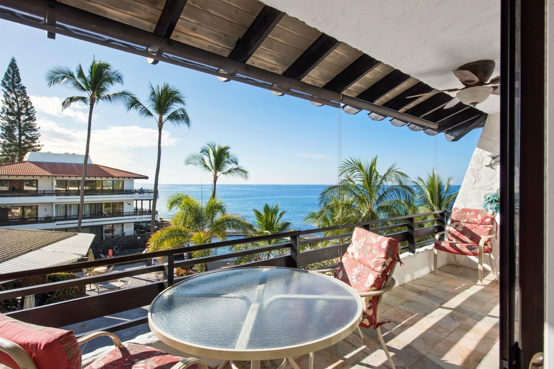 Condominio por un Venta en Casa de Emdeko 75-6082 Alii Dr. B336, Kailua-Kona, Hawaii, 96740 Estados Unidos