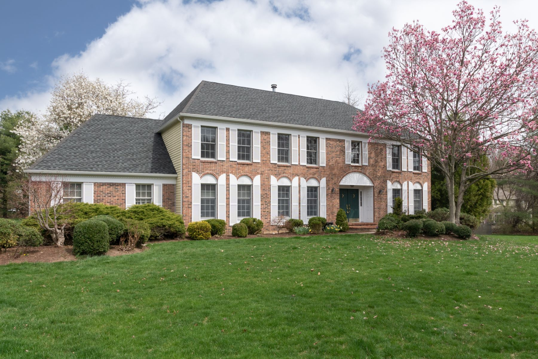 Property for Sale at Classic Princeton Colonial Impresses and Delights 110 Potters Run, Princeton, New Jersey 08540 United States