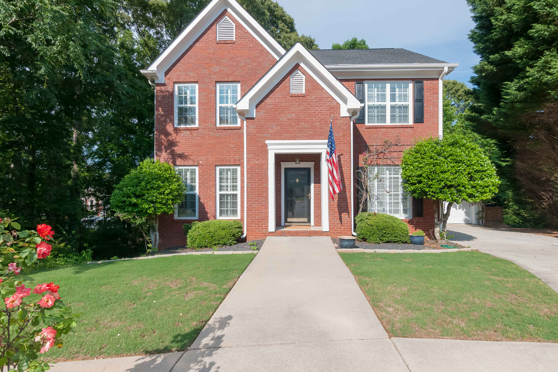 Single Family Home for Sale at Spacious Home Nestled In A Private Cul-de-sac Lot 114 Cottage Grove Peachtree City, Georgia 30269 United States