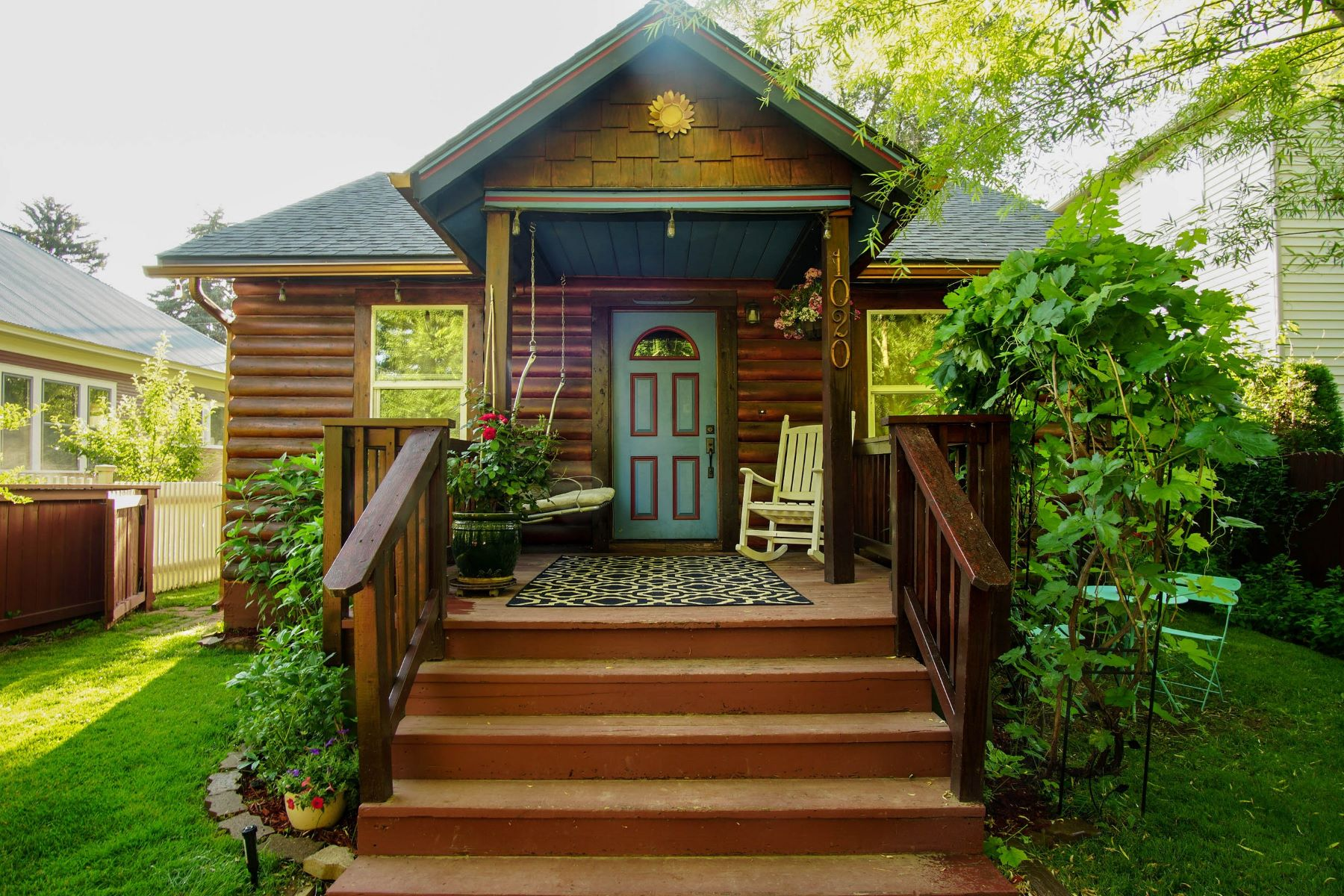 Single Family Home for Sale at Walk-to-Everything Remodeled Log Bungalow 1020 Pitkin Avenue Glenwood Springs, Colorado, 81601 United States