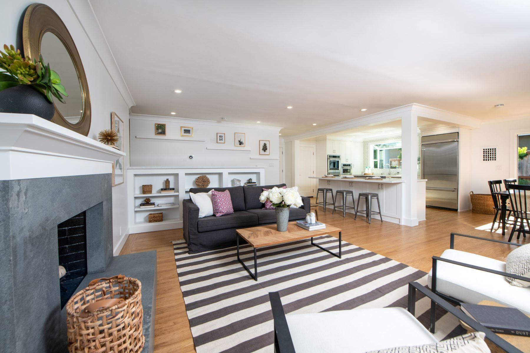 Single Family Homes for Sale at Beautiful Remodel in Corte Madera 18 Tamal Vista Blvd. Corte Madera, California 94925 United States