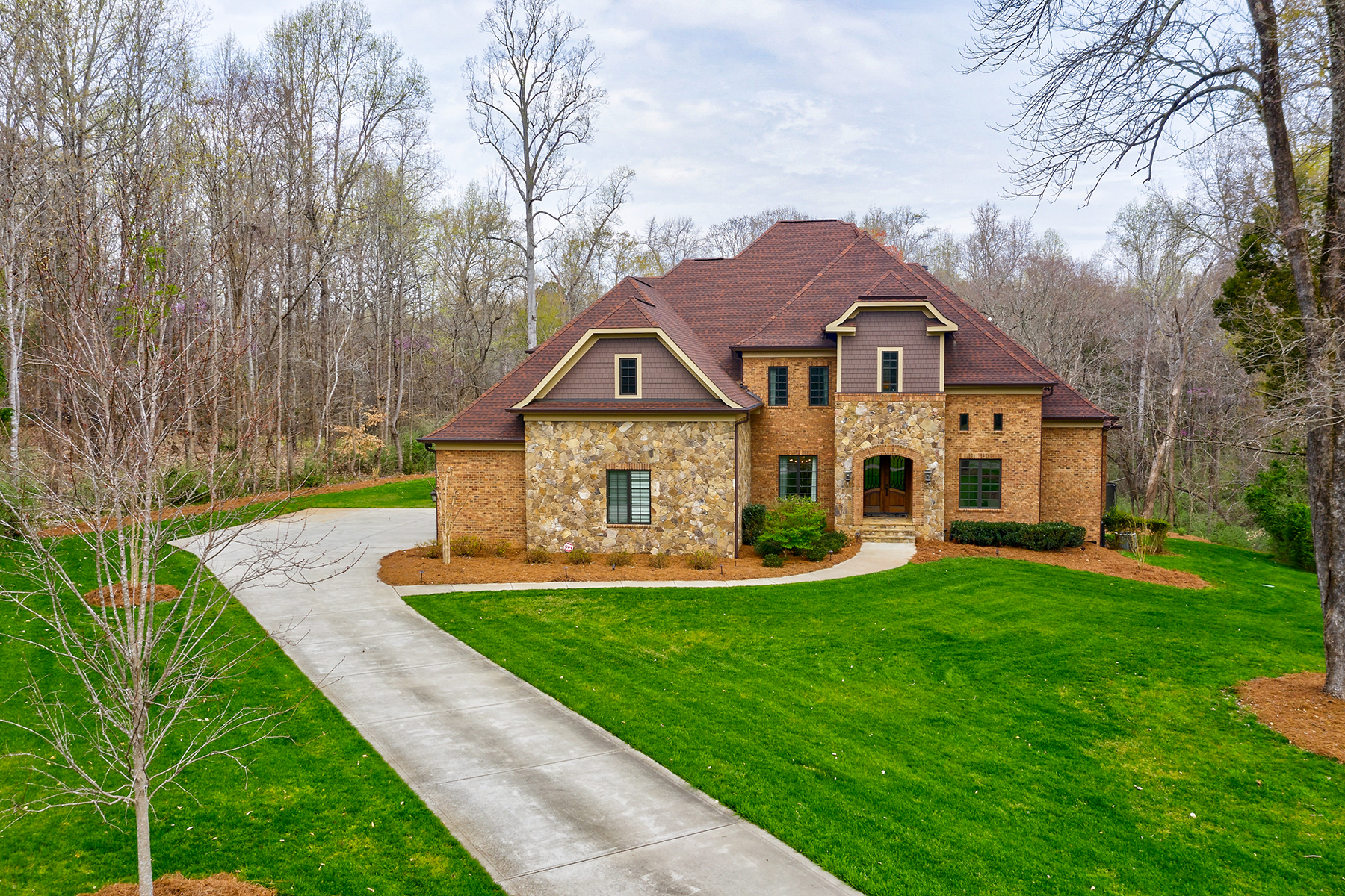 Single Family Home for Active at THE SANCTUARY 11107 Green Heron Ct Charlotte, North Carolina 28278 United States
