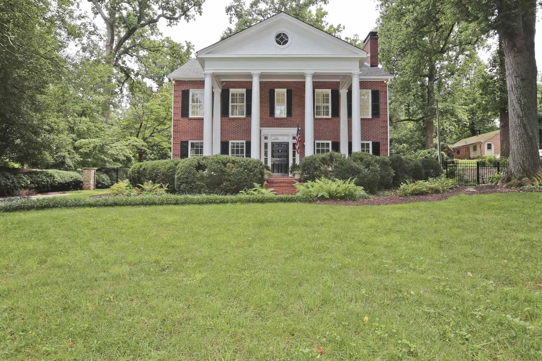 Maison unifamiliale pour l Vente à Historic Georgian Masterpiece in Druid Hills 2115 Ponce De Leon Ave Druid Hills, Atlanta, Georgia, 30307 États-Unis