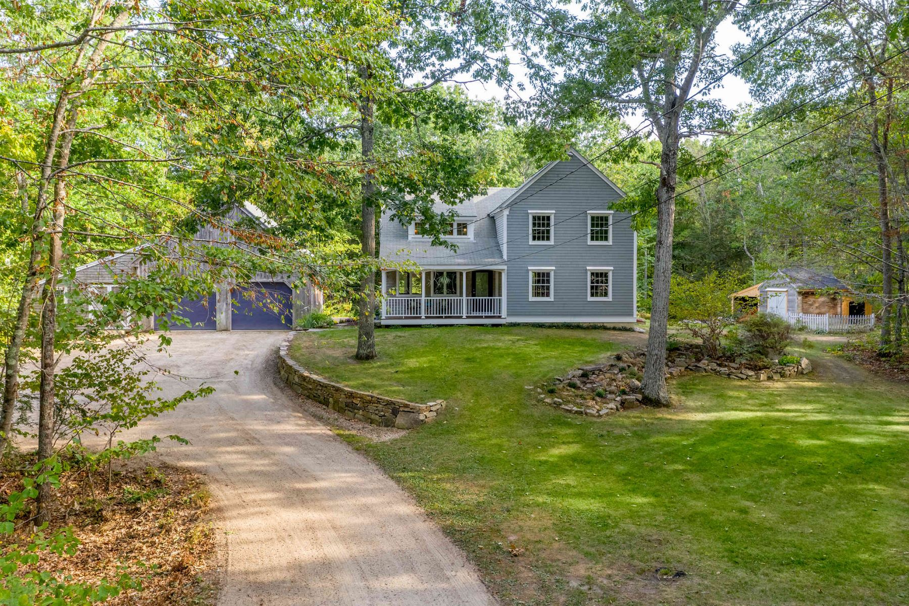 Single Family Homes for Active at Charming New Englander in Private Neighborhood 11 Ladyslipper Lane Eliot, Maine 03903 United States