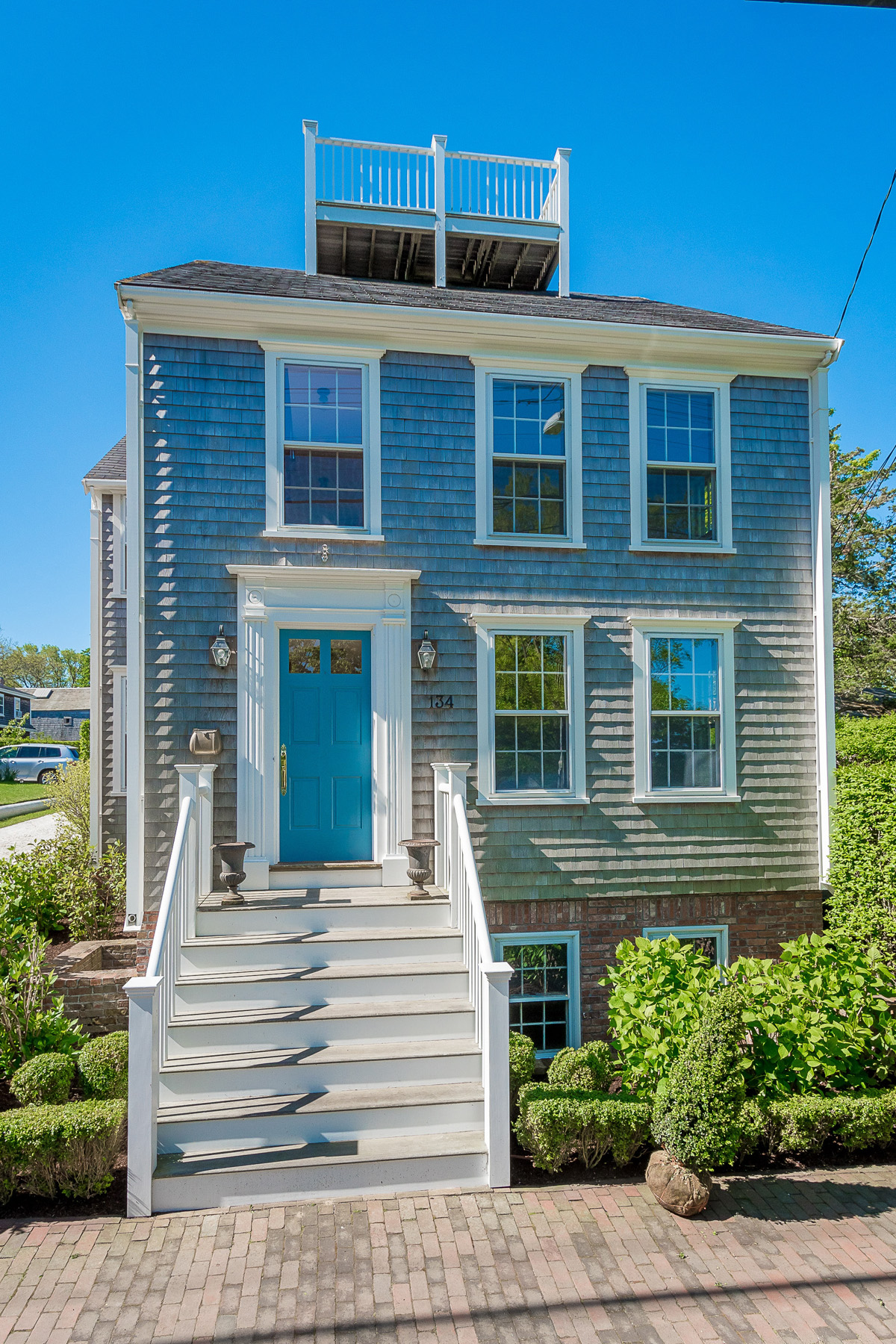 Single Family Home for Sale at Main Street Home - Extraordinary and Light Filled 134 Main Street Nantucket, Massachusetts, 02554 United States