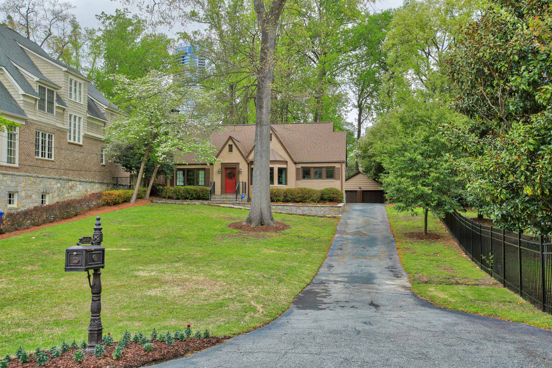 Single Family Home for Rent at Renovated Peachtree Park Bungalow 744 E Paces Ferry Road NE Atlanta, Georgia 30305 United States