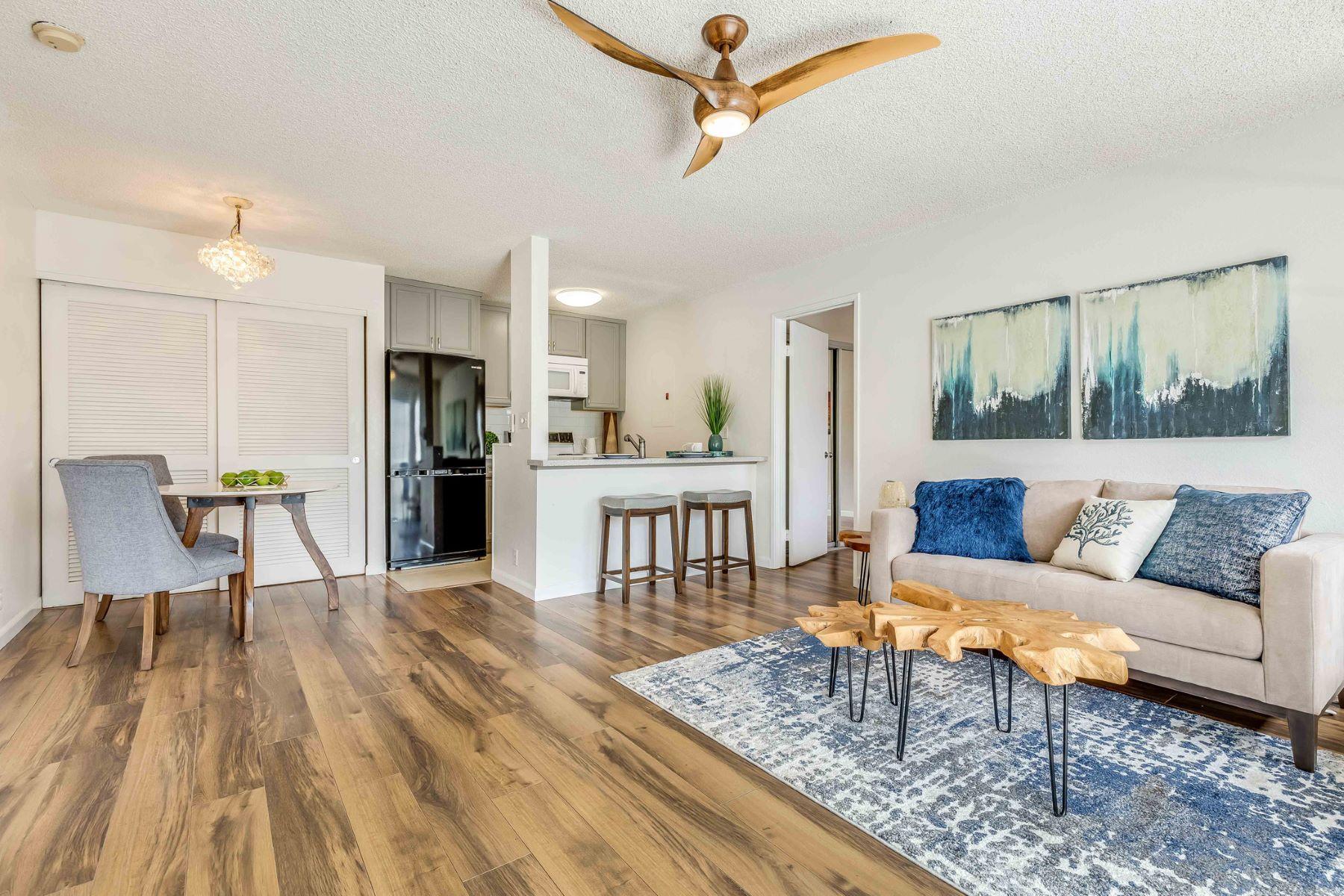 Condominiums för Försäljning vid Condo, Haiku Point 2, Kaneohe, Mountain View 46-1061 Emepela Way #5S, Kaneohe, Hawaii 96744 Förenta staterna