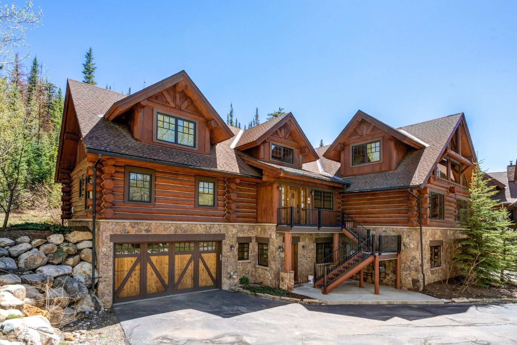 Single Family Home for Sale at Lodges on Burgess Creek 1806 Stonecreek Court Steamboat Springs, Colorado 80487 United States
