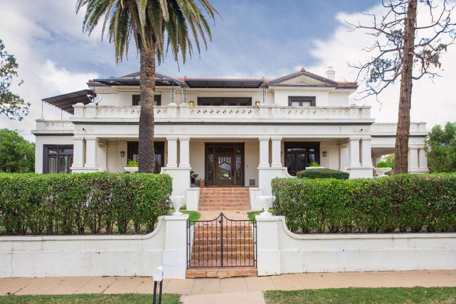 Single Family Homes 为 销售 在 Beautiful Home Designated As ''Historic'' By The State Of Arizona 613 N Sierra Avenue 诺加利斯, 亚利桑那州 85621 美国