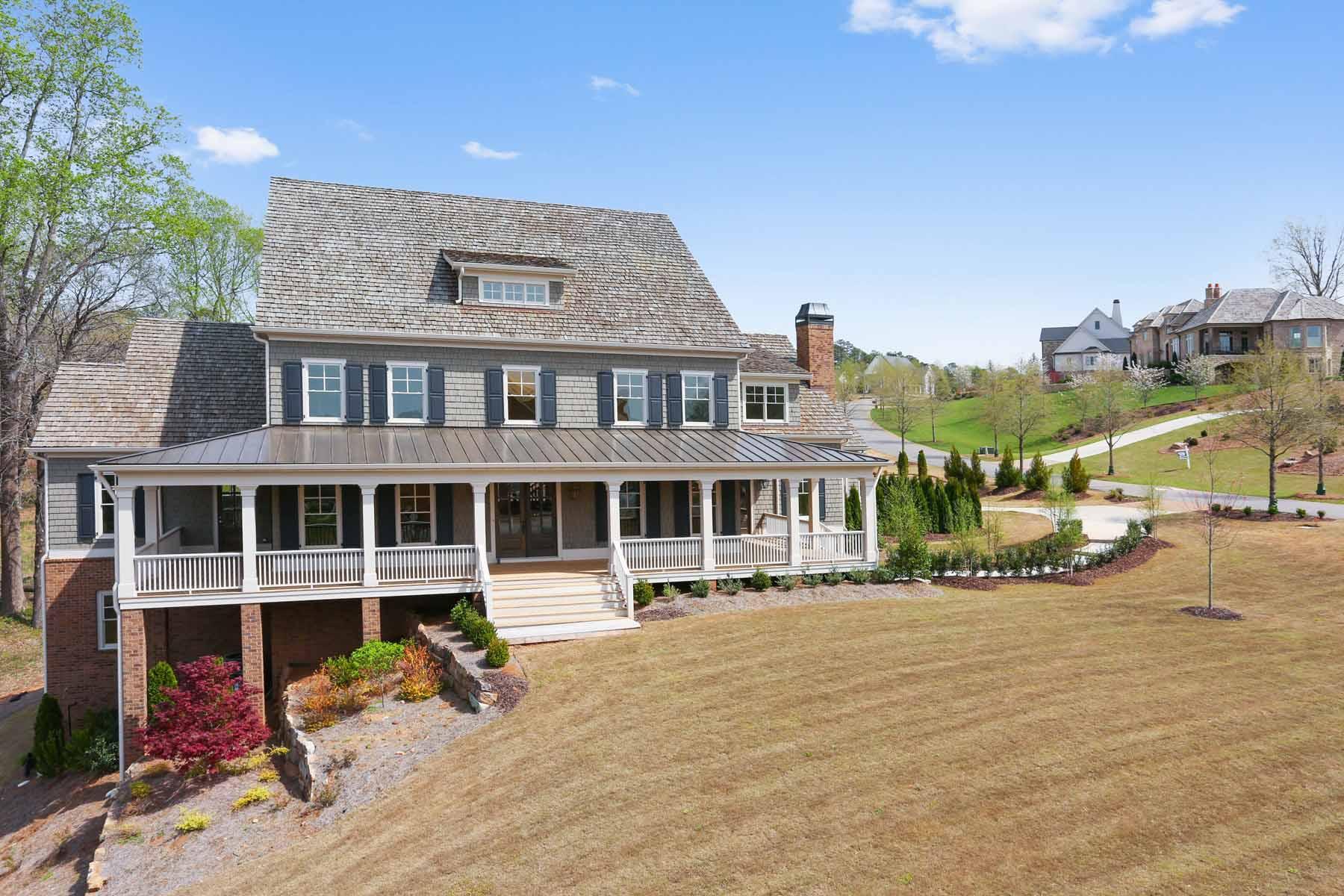 Частный односемейный дом для того Продажа на New Construction in The Hayfield 14000 Haystack Lane Milton, Джорджия, 30004 Соединенные Штаты