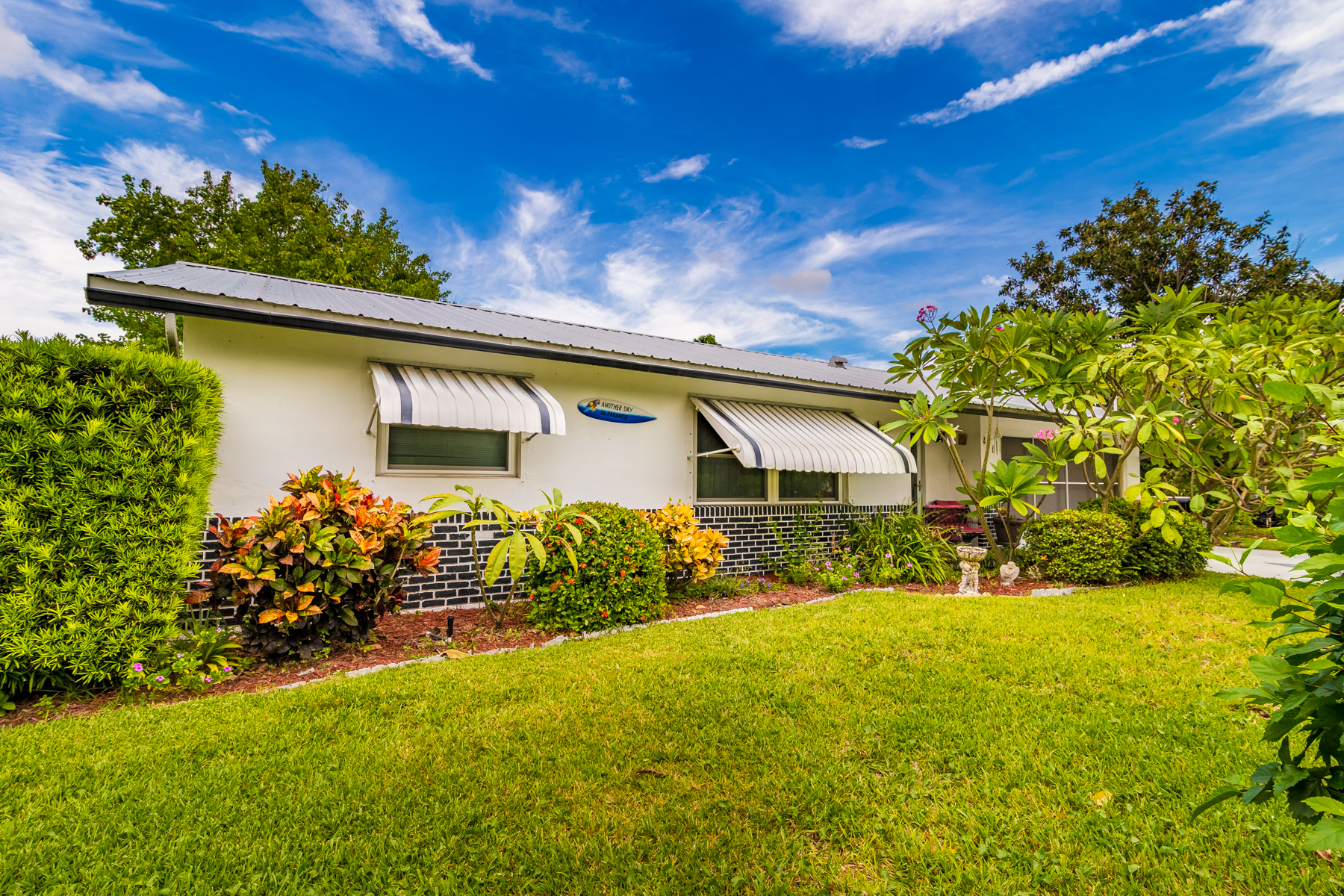 Single Family Home for Sale at Charming Updated Home in Riveria Estates 436 Dolphin Street Melbourne Beach, Florida 32951 United States