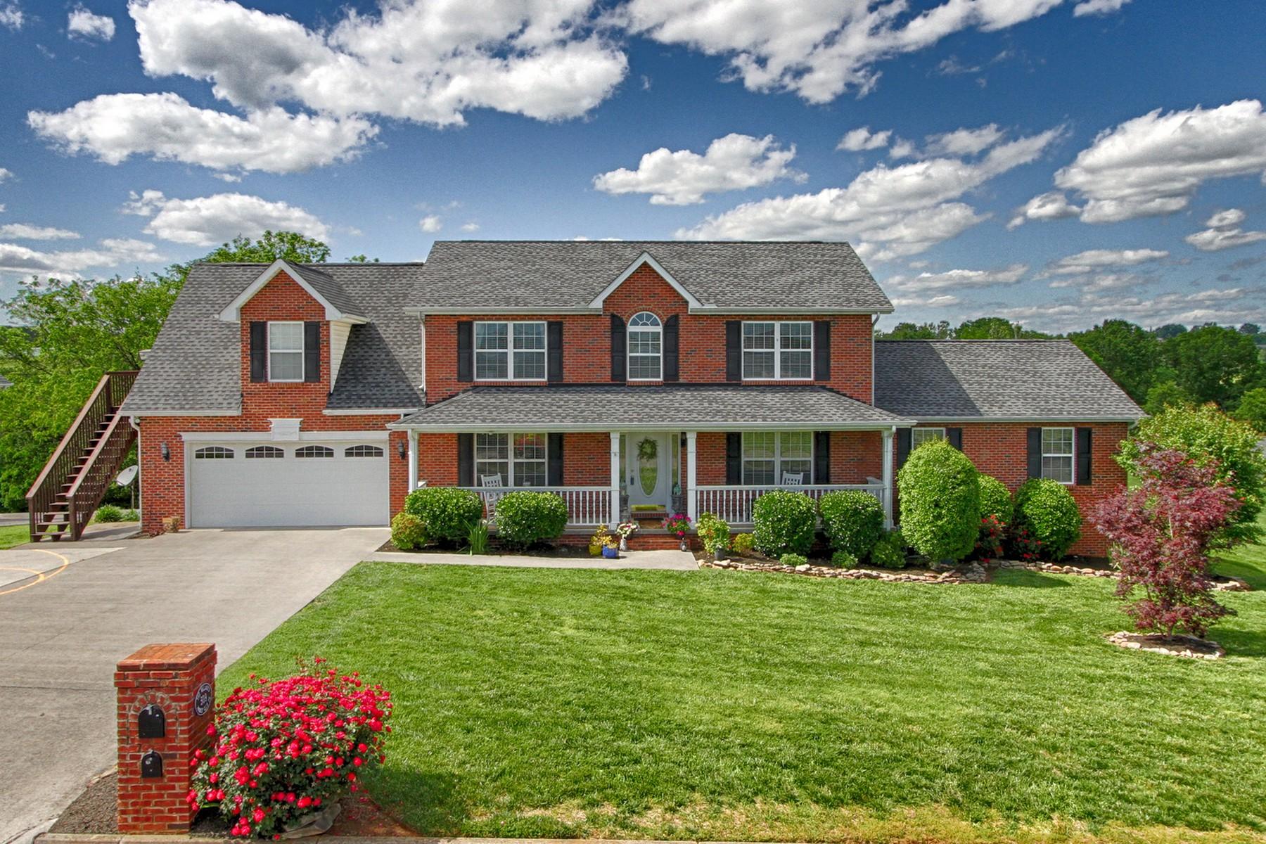 Casa para uma família para Venda às Mountain View Home 509 Jocky Club Lane Seymour, Tennessee, 37865 Estados Unidos