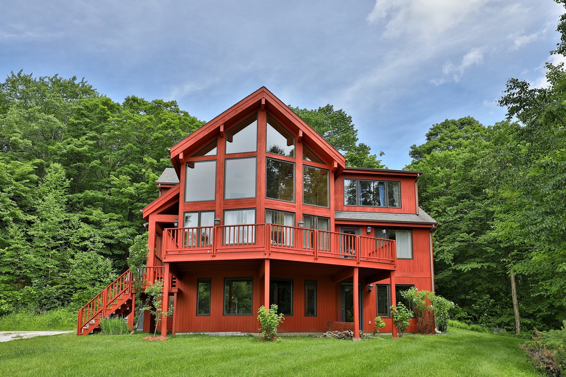Single Family Homes for Sale at Vermont Country Living 898 Ccc Rd Shrewsbury, Vermont 05738 United States