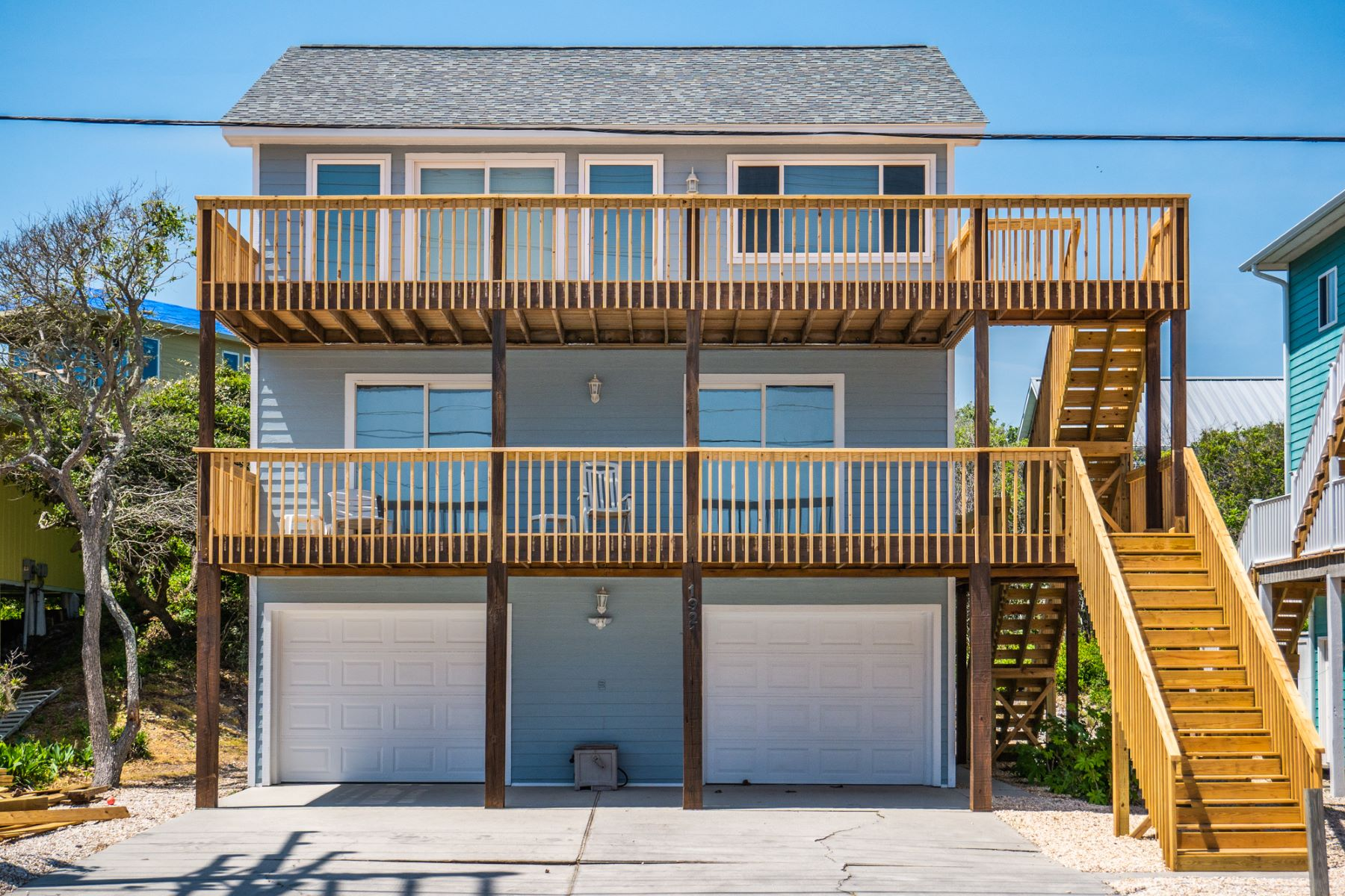 Single Family Home for Active at Ocean Views Abound from this Island Home 1921 S Shore Drive Surf City, North Carolina 28445 United States