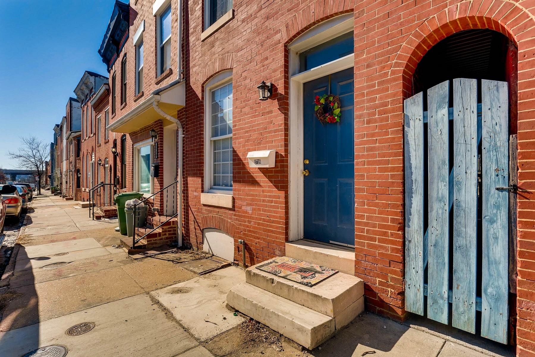 独户住宅 为 销售 在 Federal Hill 1716 Light Street, 巴尔的摩, 马里兰州, 21230 美国