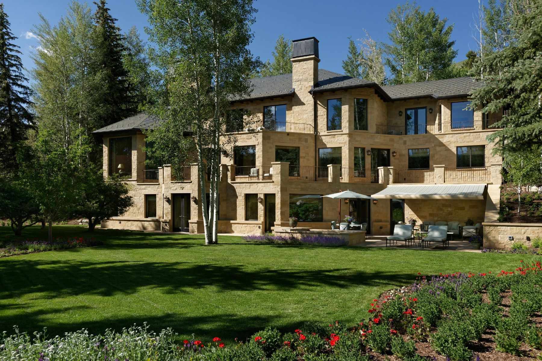 Single Family Homes for Sale at Aspen's Best Address 64 Pitkin Way, Aspen, Colorado 81611 United States