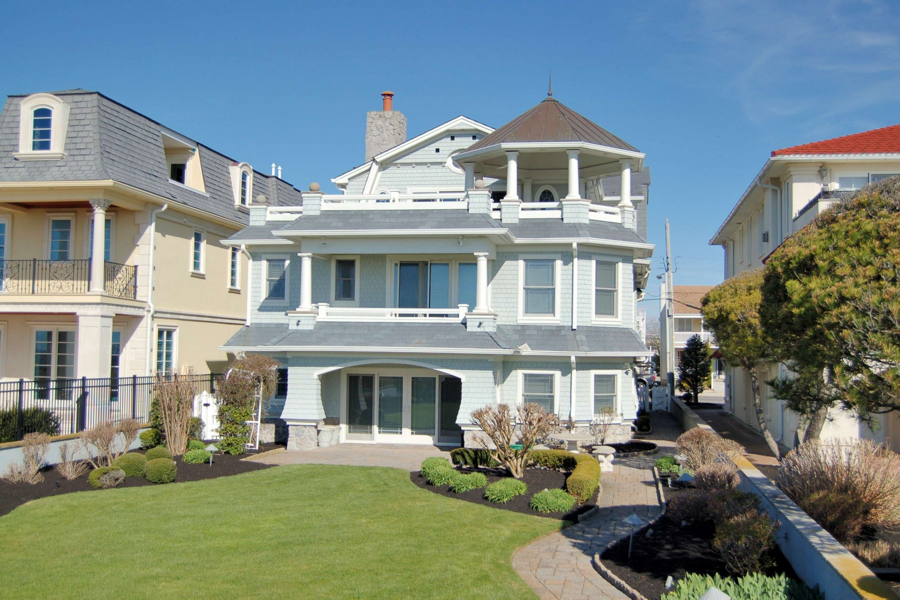 Single Family Home for Rent at Luxurious Ocean Front Rental 2021 Wesley Avenue Ocean City, New Jersey 08226 United States
