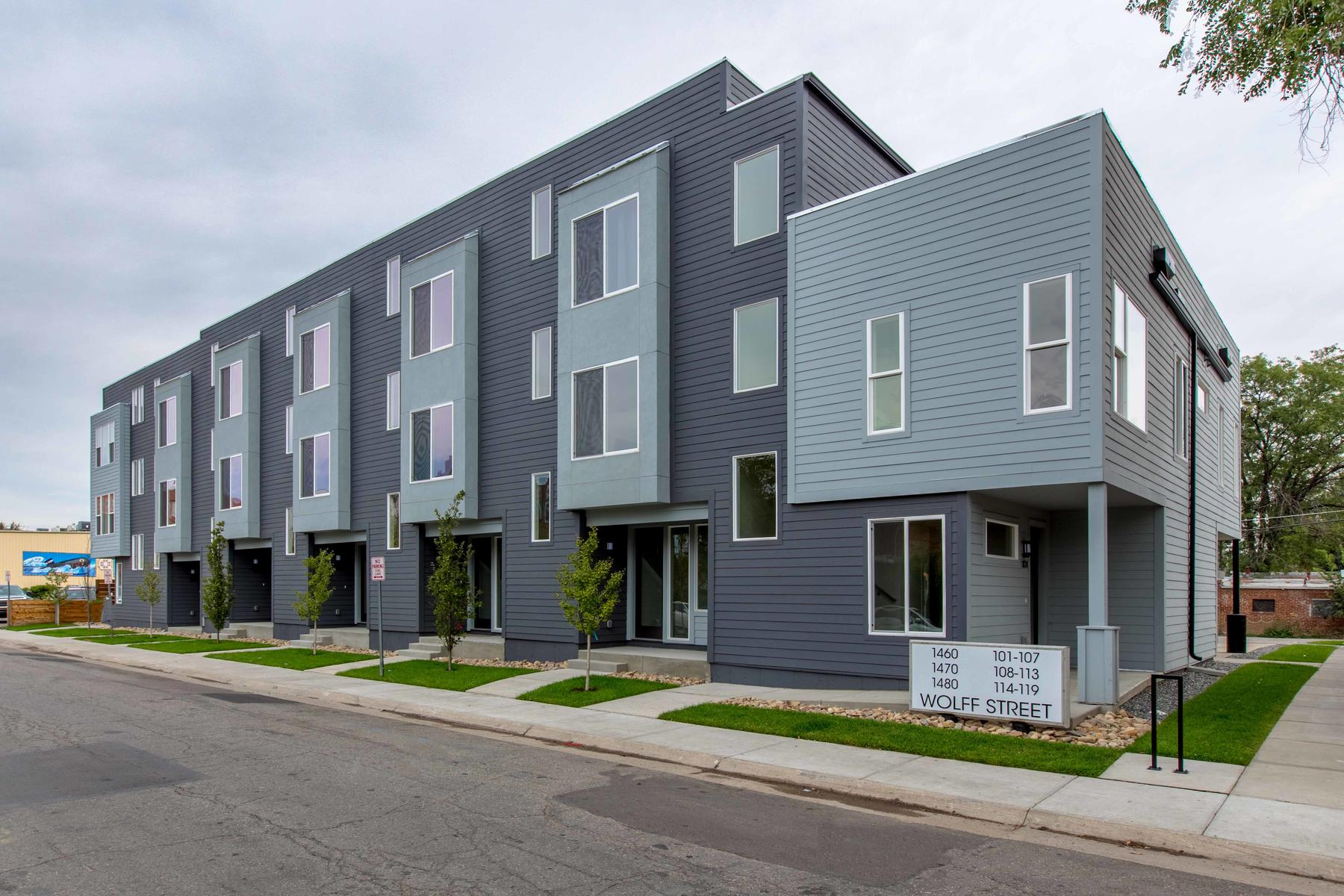 Townhouse for Active at New Townhomes Near Sloan's Lake Ready For Move In 1460 Wolff St #104 Denver, Colorado 80204 United States