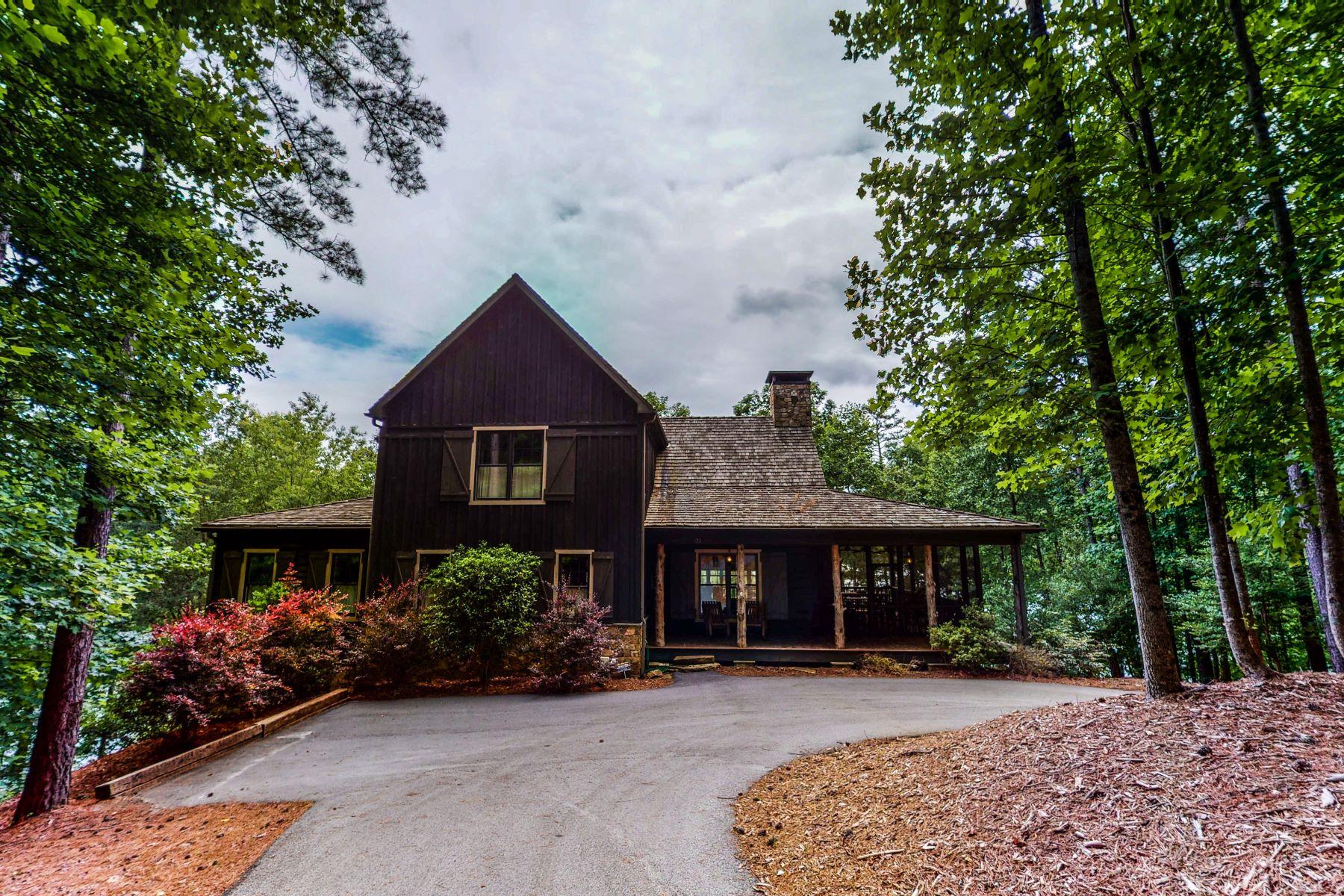Single Family Homes por un Venta en Cozy Cabin on Lake Keowee 522 Riverstone Dr, Salem, Carolina del Sur 29676 Estados Unidos