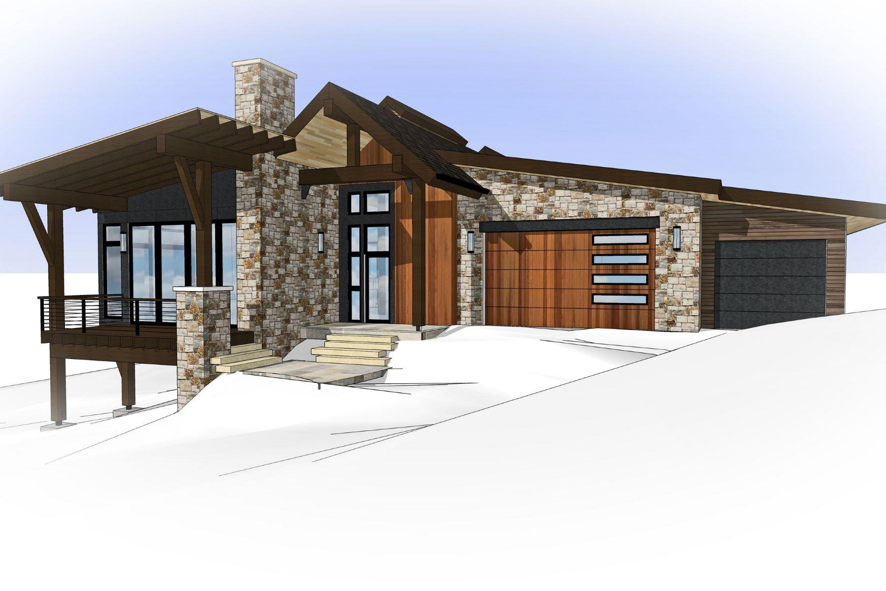 Maison unifamiliale pour l Vente à Contemporary Mountain Home in The Sanctuary 589 Forest View Drive Mountain, Steamboat Springs, Colorado, 80487 États-Unis