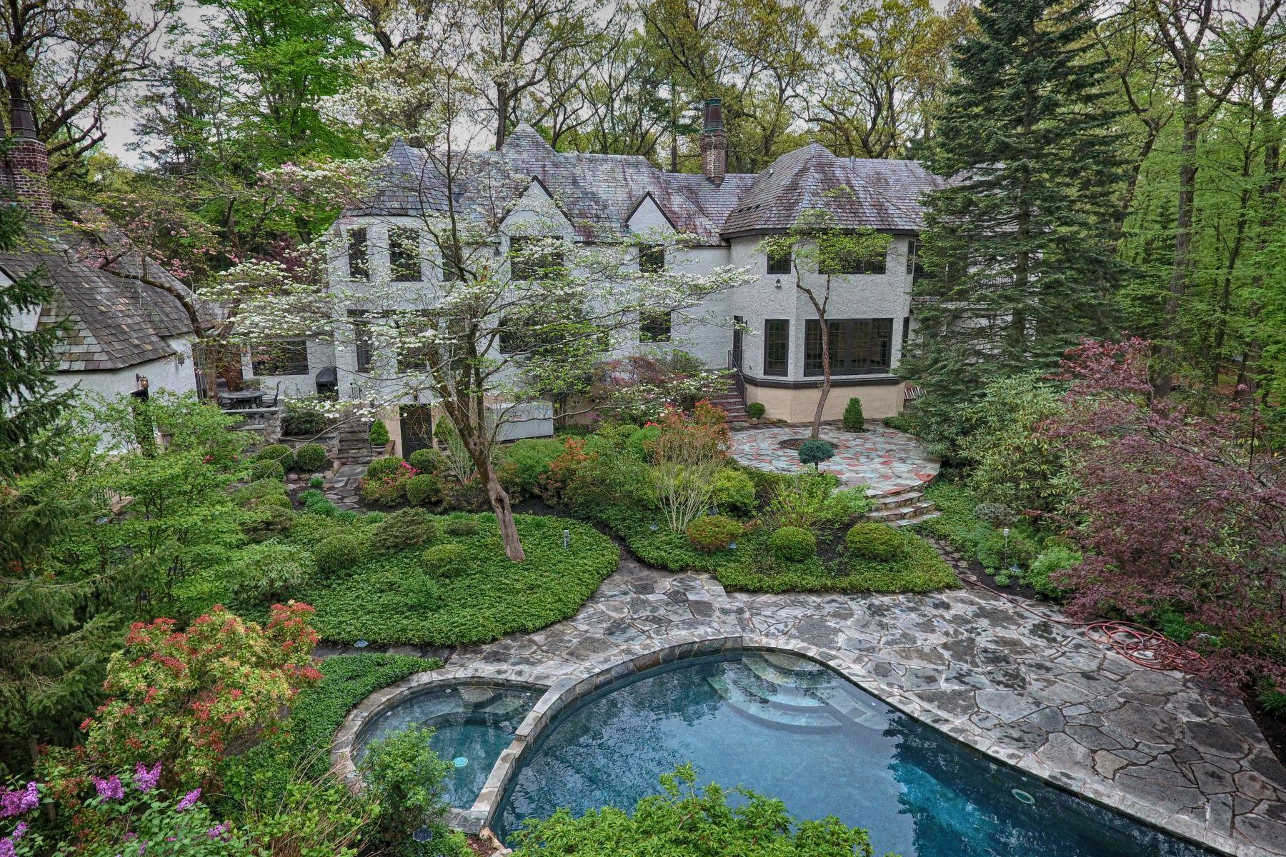 Single Family Homes للـ Sale في Exquisite Tudor Home 91 N Pocono Road, Denville, New Jersey 07834 United States